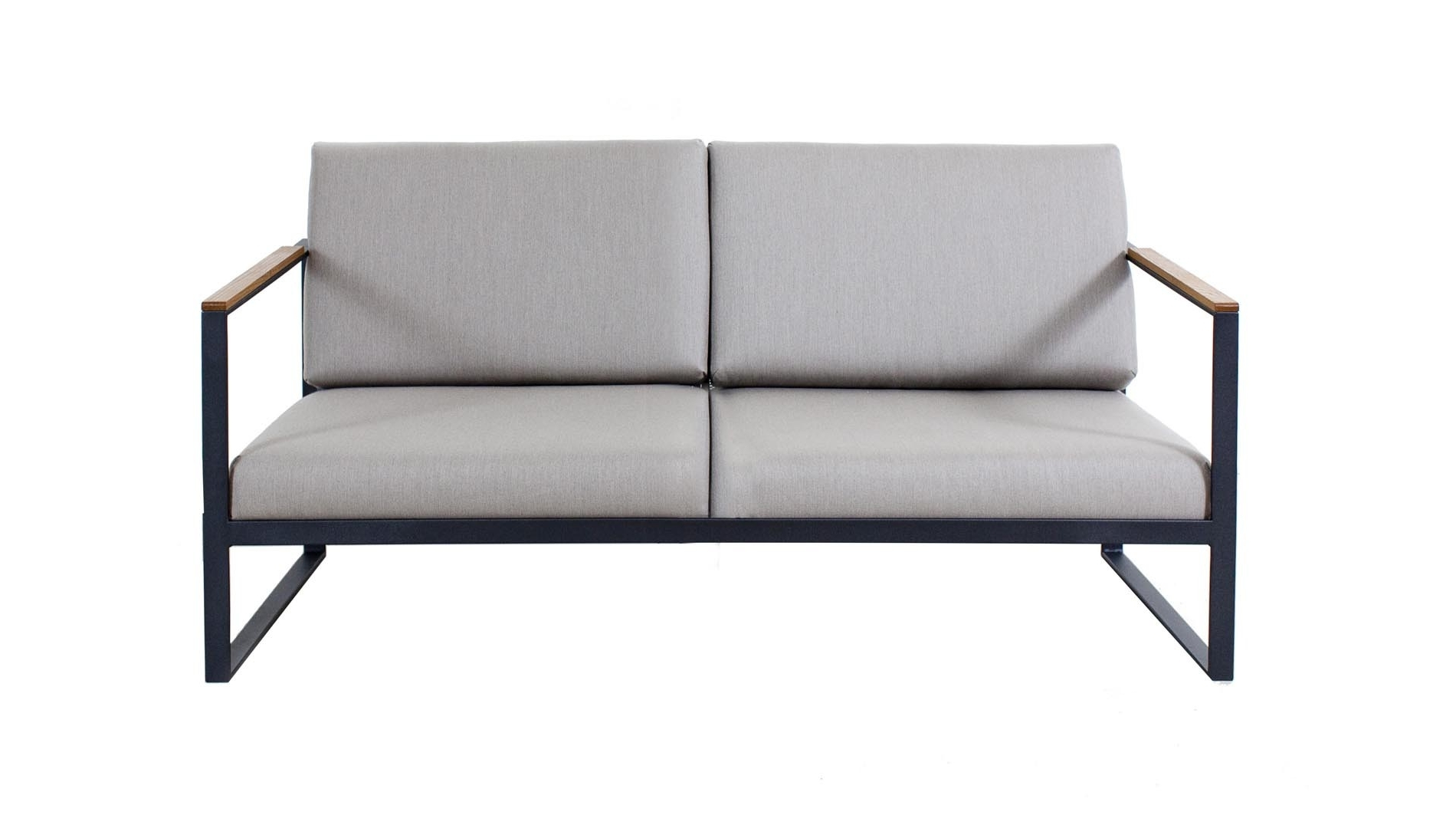 Fashionable Roshults, Easy Garden 2 Seater Sofa – Natural Grey, Buy Online At Intended For Two Seater Sofas (View 18 of 20)