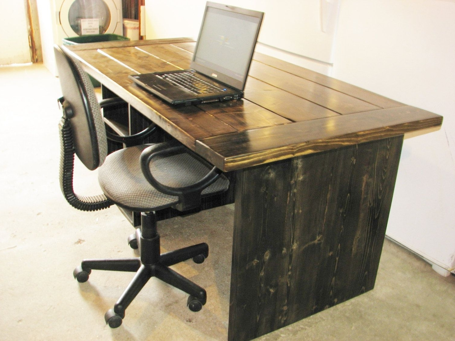 Fashionable Rustic Computer Desks For Computer Desk, Free Shipping, Office Desk, High Quality, Rustic (View 3 of 20)