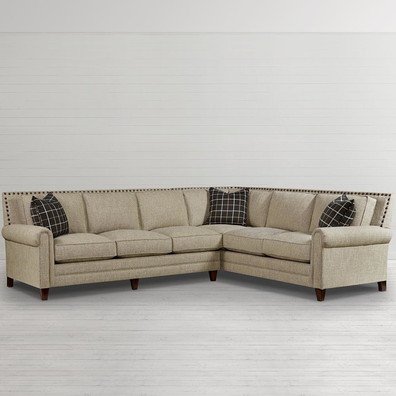 Fashionable Sectional Sofas In Greenville Sc With Bassett Furniture Greenville Sc (View 3 of 20)