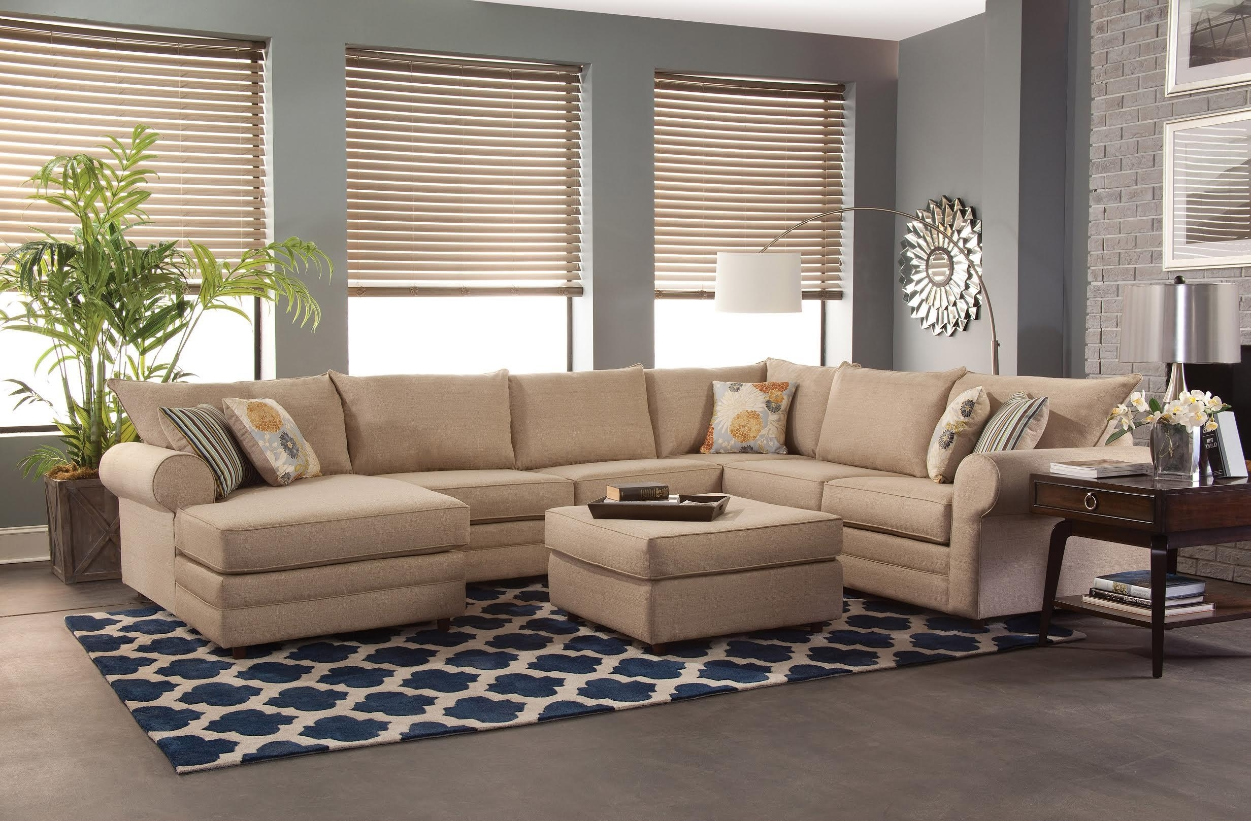 Fashionable Sectional Sofas With Belfort Essentials Monticello Casual Sectional Sofa (View 2 of 20)