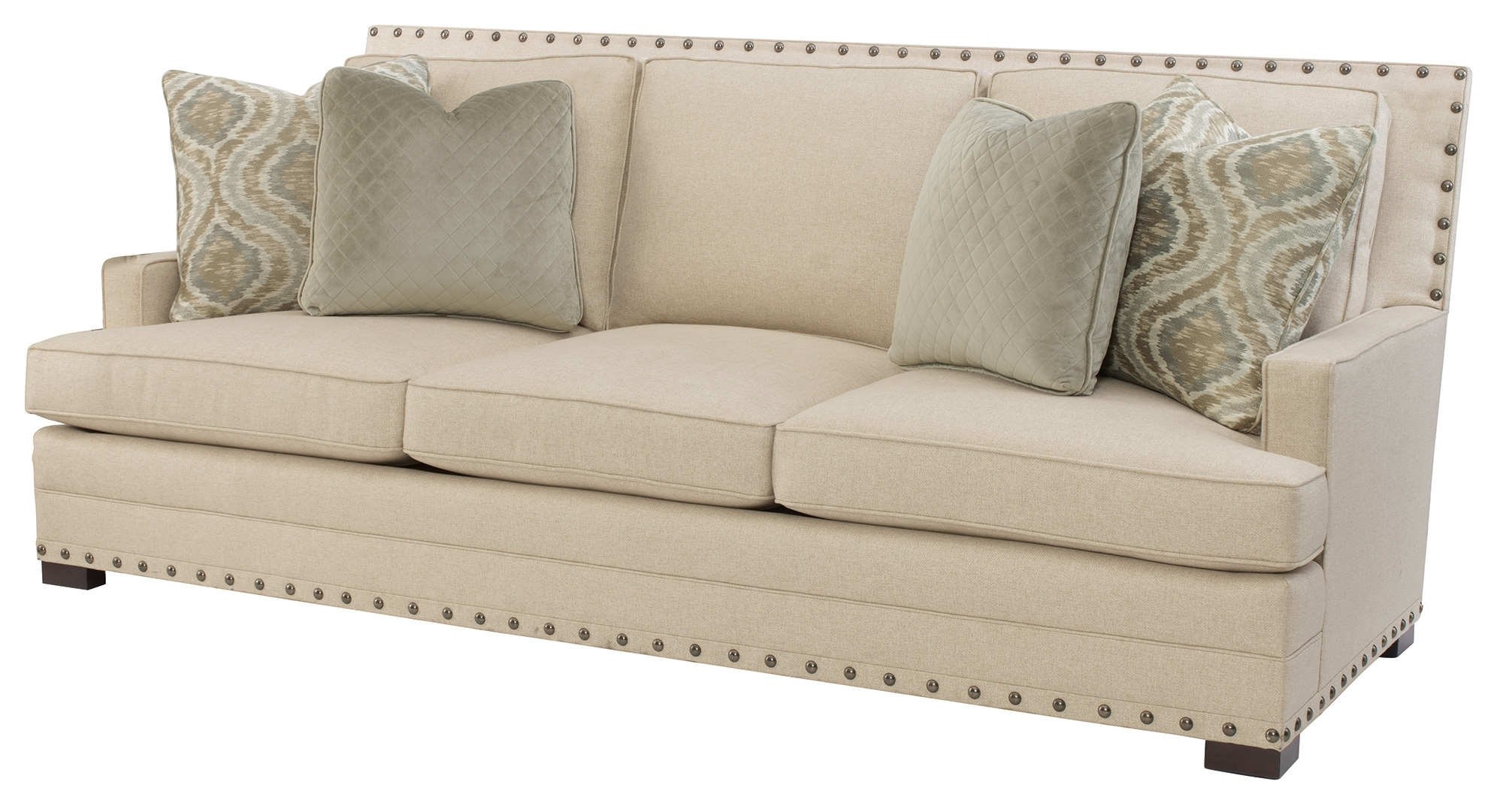 Fashionable Sectional Sofas With Nailheads With Regard To Home Decor Blog: Nailhead Trim: Then And Today (View 14 of 20)