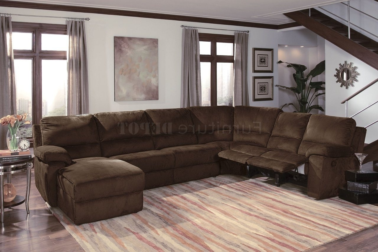 Fashionable Sectional Sofas With Recliners Leather With Regard To Lovely Sofa Design Plus Sectional Sofa Design Leather Sectional (View 14 of 20)