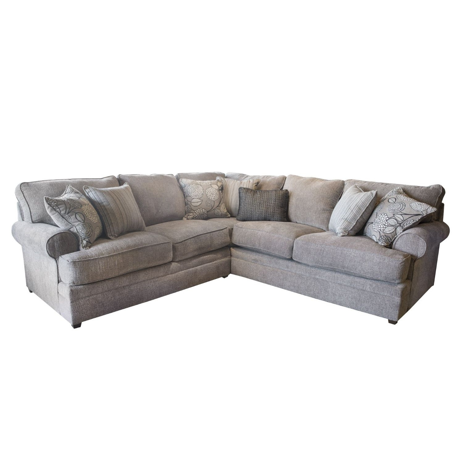 Fashionable Simmons Chaise Sofas With Macey Pewter 2 Piece Sectional Beauty Restsimmons $ (View 14 of 20)