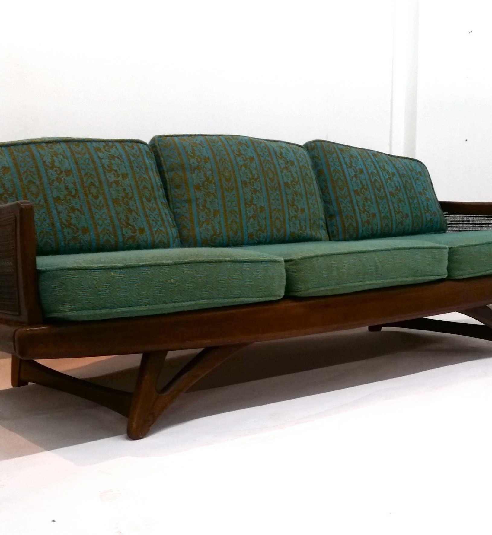 Fashionable Sofas: Danish Modern Loveseat (View 8 of 20)
