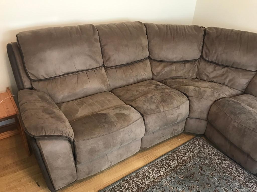Faux Suede Sofas (View 6 Of 20)