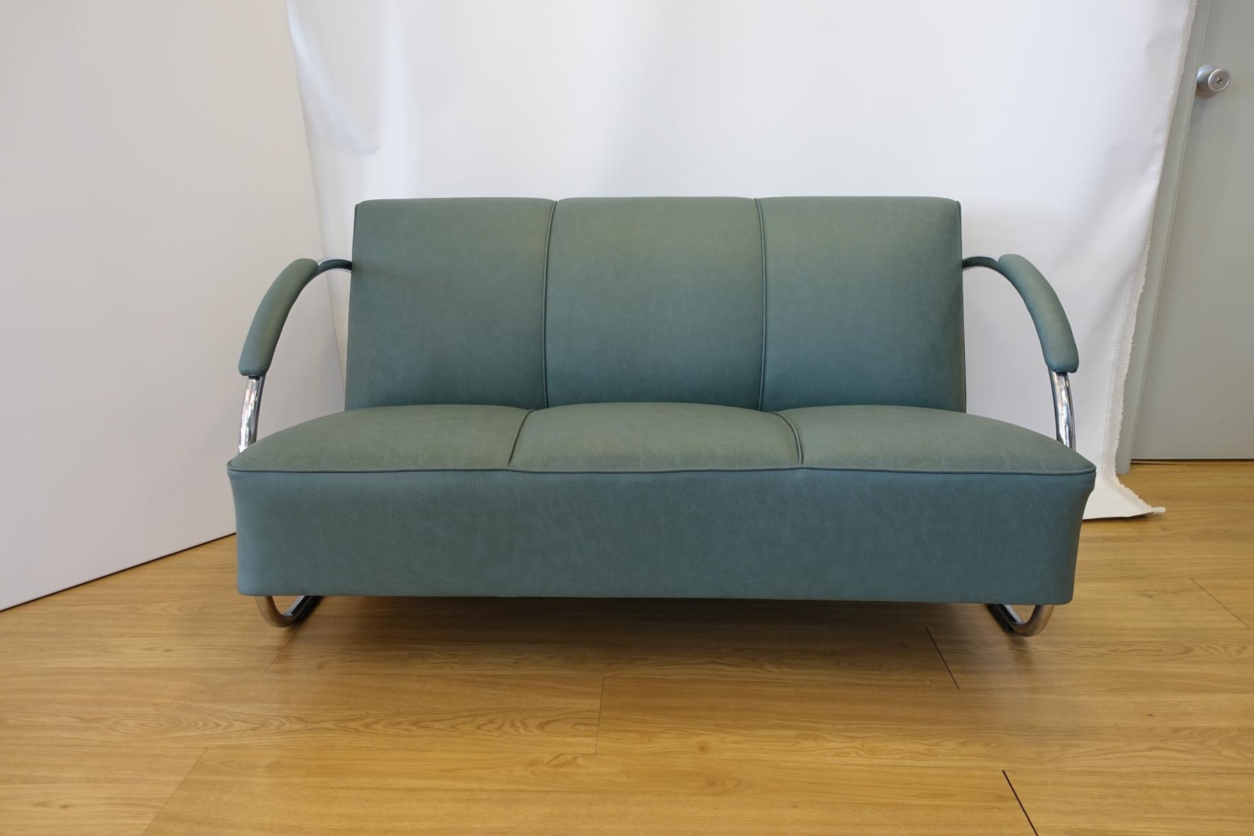 Favorite 1930s Sofas With Chromed Steel And Synthetic Leather Sofawarren Mcarthur, 1930s (View 16 of 20)