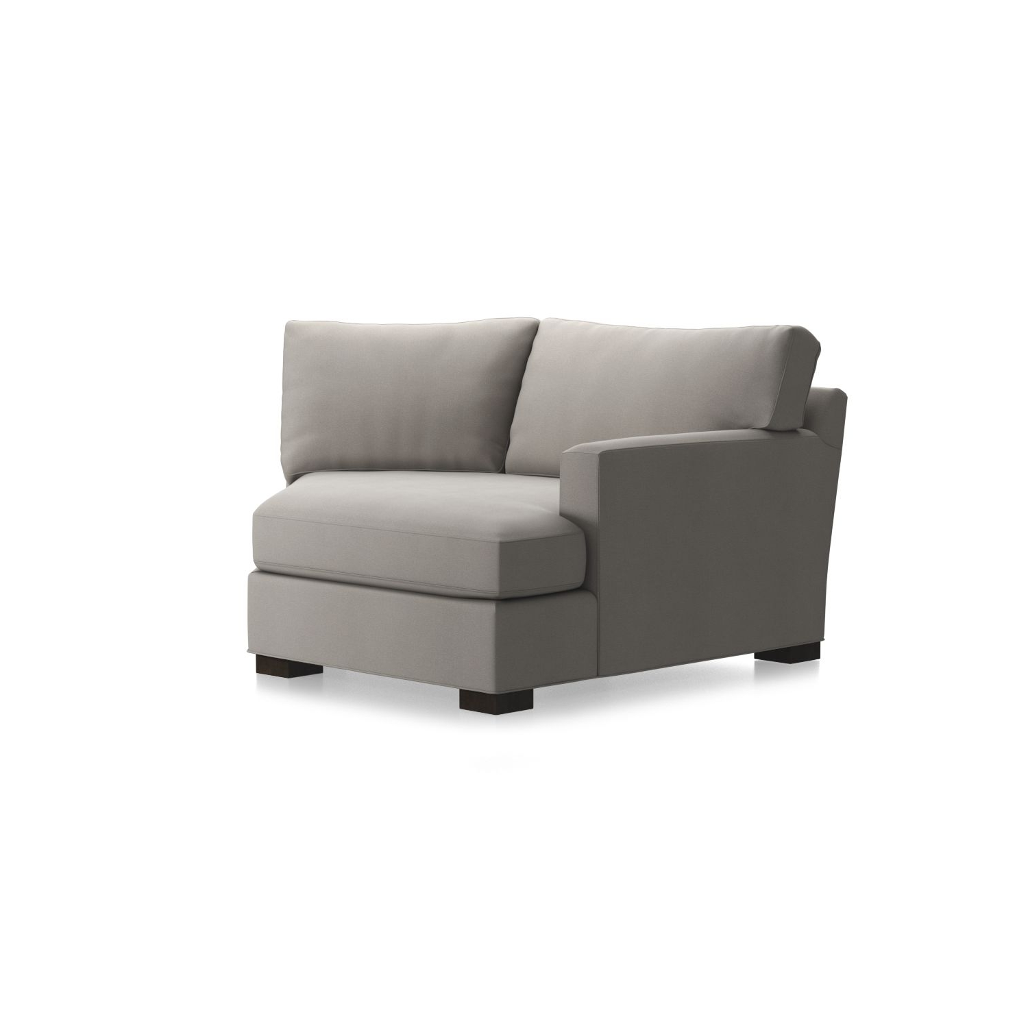 Favorite Angled Chaise Sofas Pertaining To Axis Ii Left Arm Angled Chaise Lounge In Chaises + Reviews (View 9 of 20)