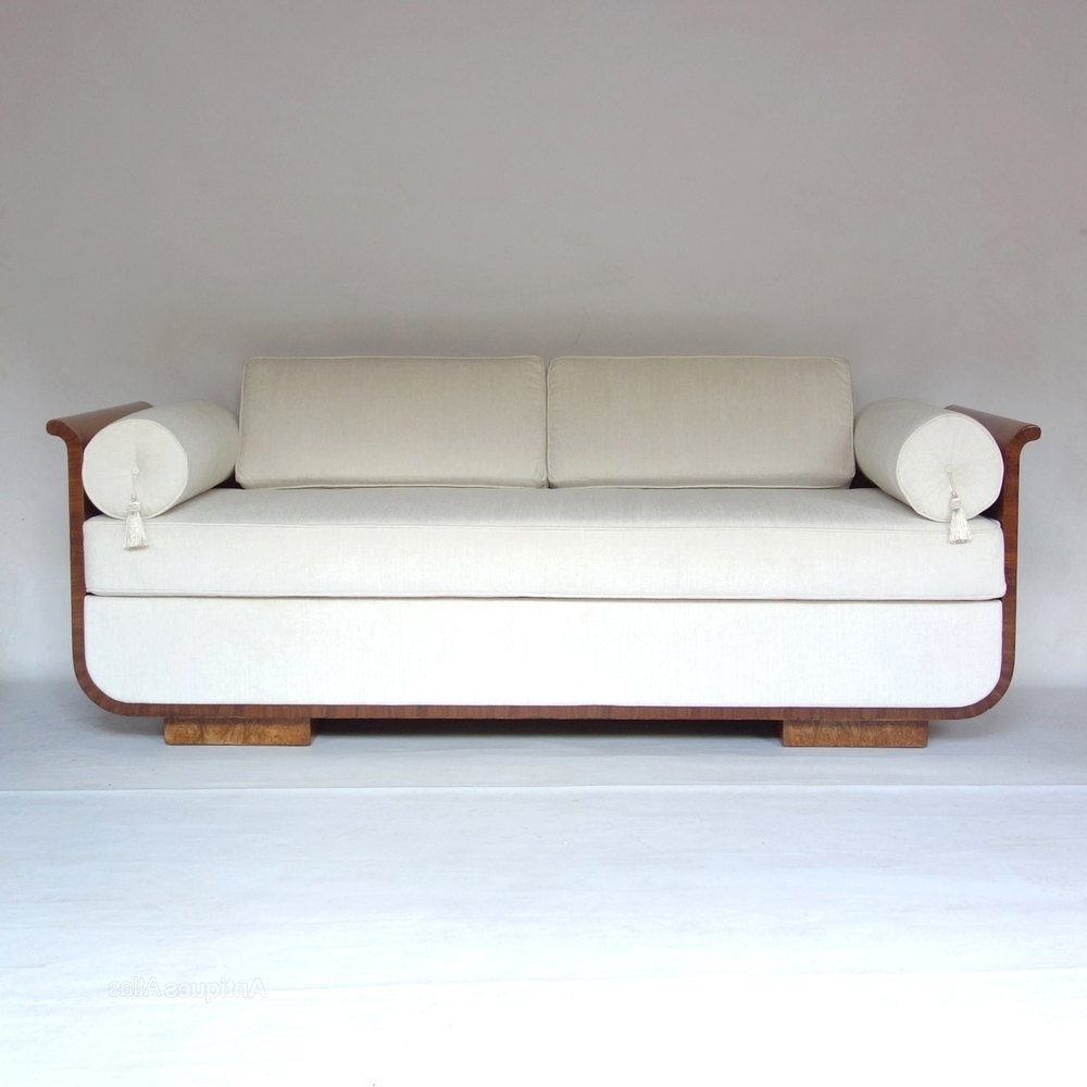 Favorite Art Deco Daybed Sofa Czech Jindrich Halabala 1930s – Antiques Regarding Art Deco Sofas (View 13 of 20)