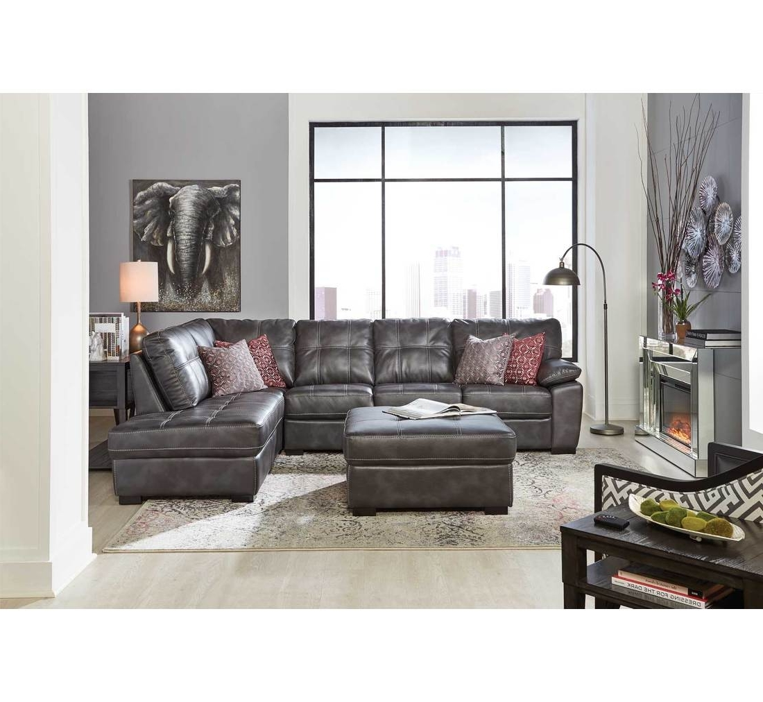 Favorite Bannon Grey 2 Pc Sectional (View 9 of 20)