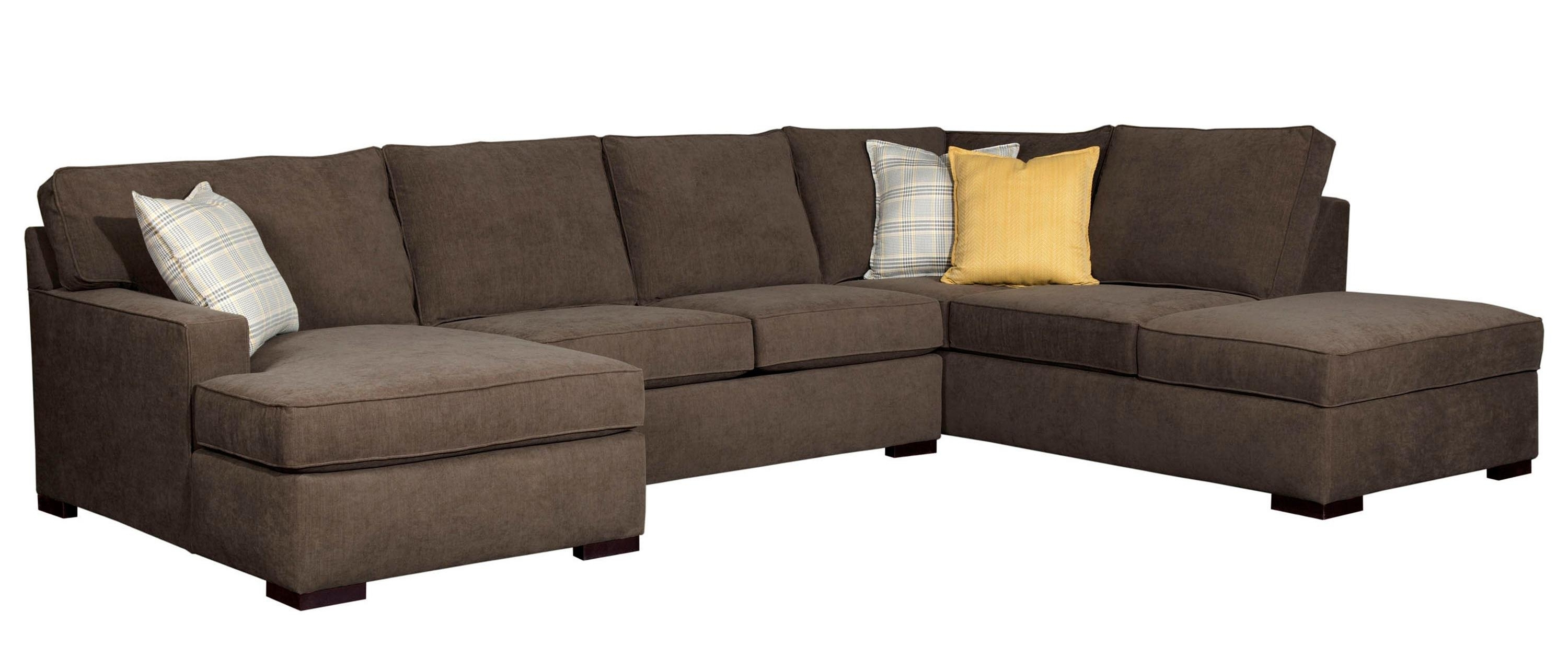 Favorite Broyhill Sectional Sofas Regarding Raphael Contemporary Sectional Sofa With Raf Corner Storage Chaise (View 8 of 20)