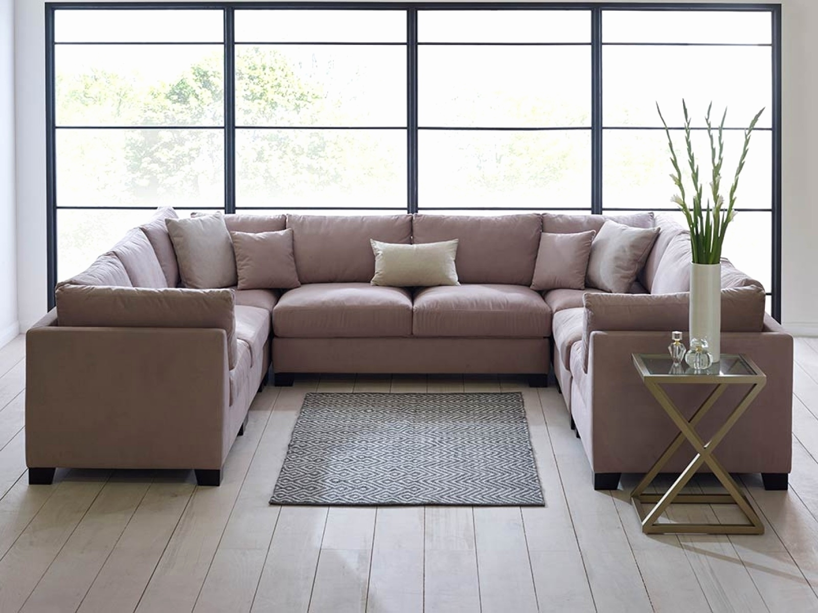 Favorite C Shaped Sectional Sofa For C Shaped Sofas (View 10 of 20)
