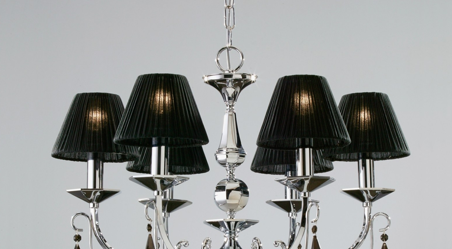 Favorite Chandelier : Shades Black Lampshade With Crystal Beads And Tassels Inside Turquoise Chandelier Lamp Shades (View 8 of 20)