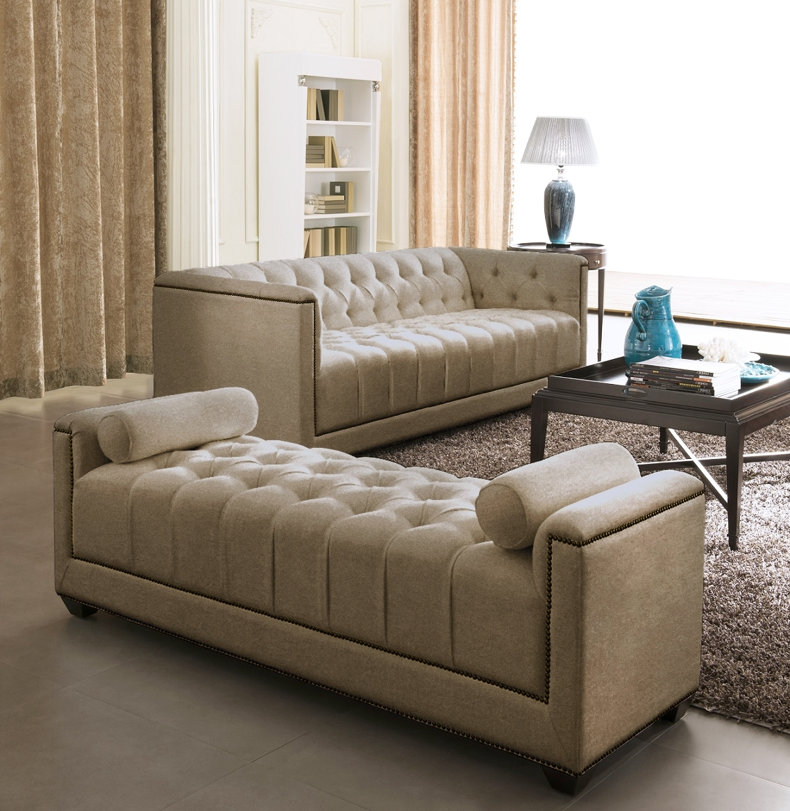 Favorite Contemporary Sofas And Chairs Pertaining To Furniture: Inspiring Living Room Design With Contemporary Sofas (View 19 of 20)