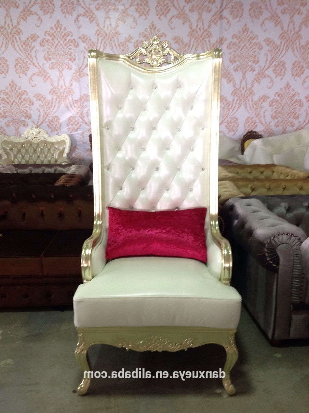 Favorite Danxueya Saloon Chair/turkish Style High Back Used Pedicure Chair Pertaining To Sofa Pedicure Chairs (View 4 of 20)