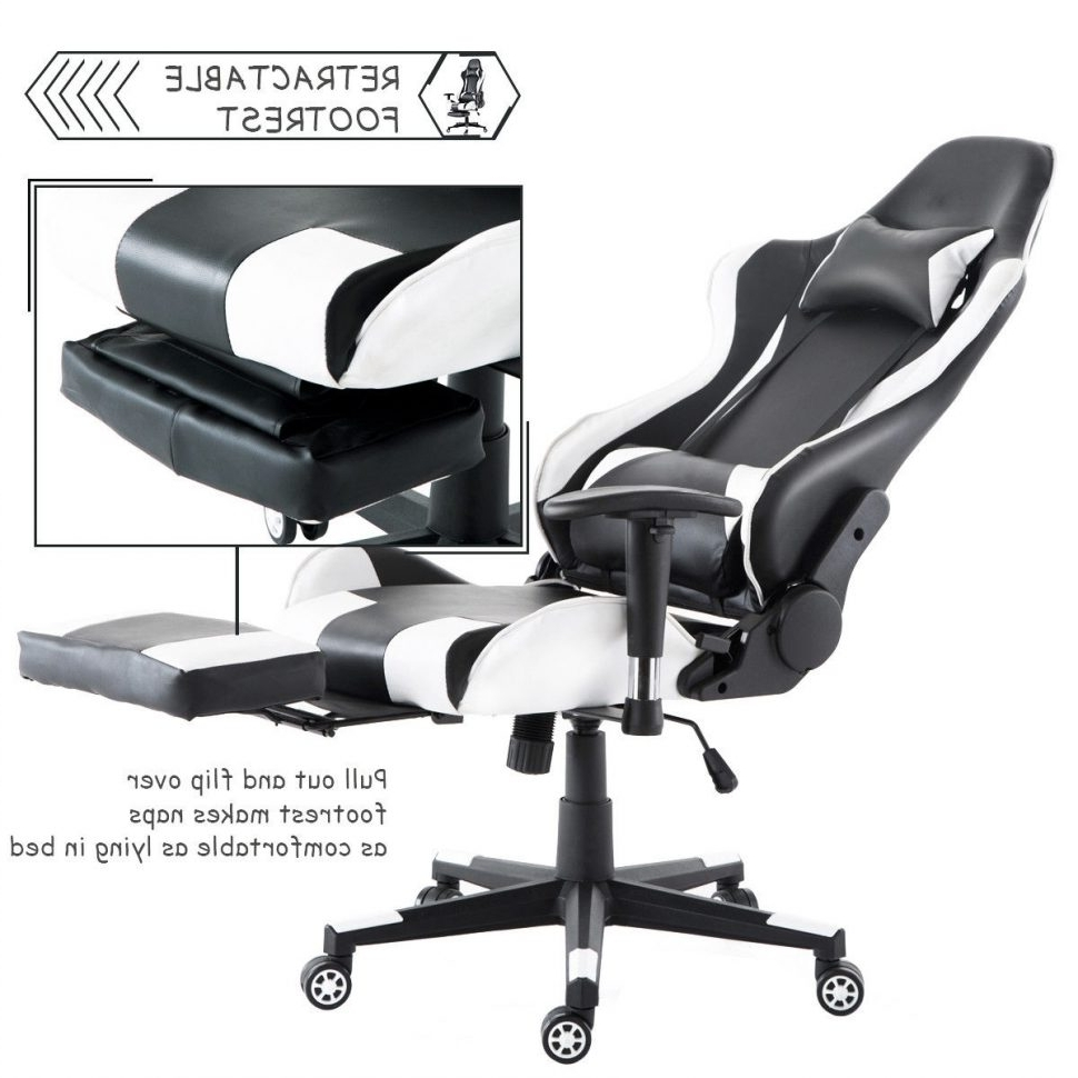 Favorite Executive Office Chairs With Leg Rest Within Office Chairs : Back Posture Chair Reclining Office Chair With Leg (View 12 of 20)