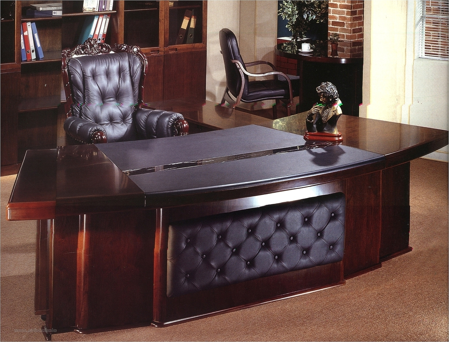 Favorite Executive Office Table And Chairs Throughout Executive Table 3248 (1575×1201) (View 6 of 20)