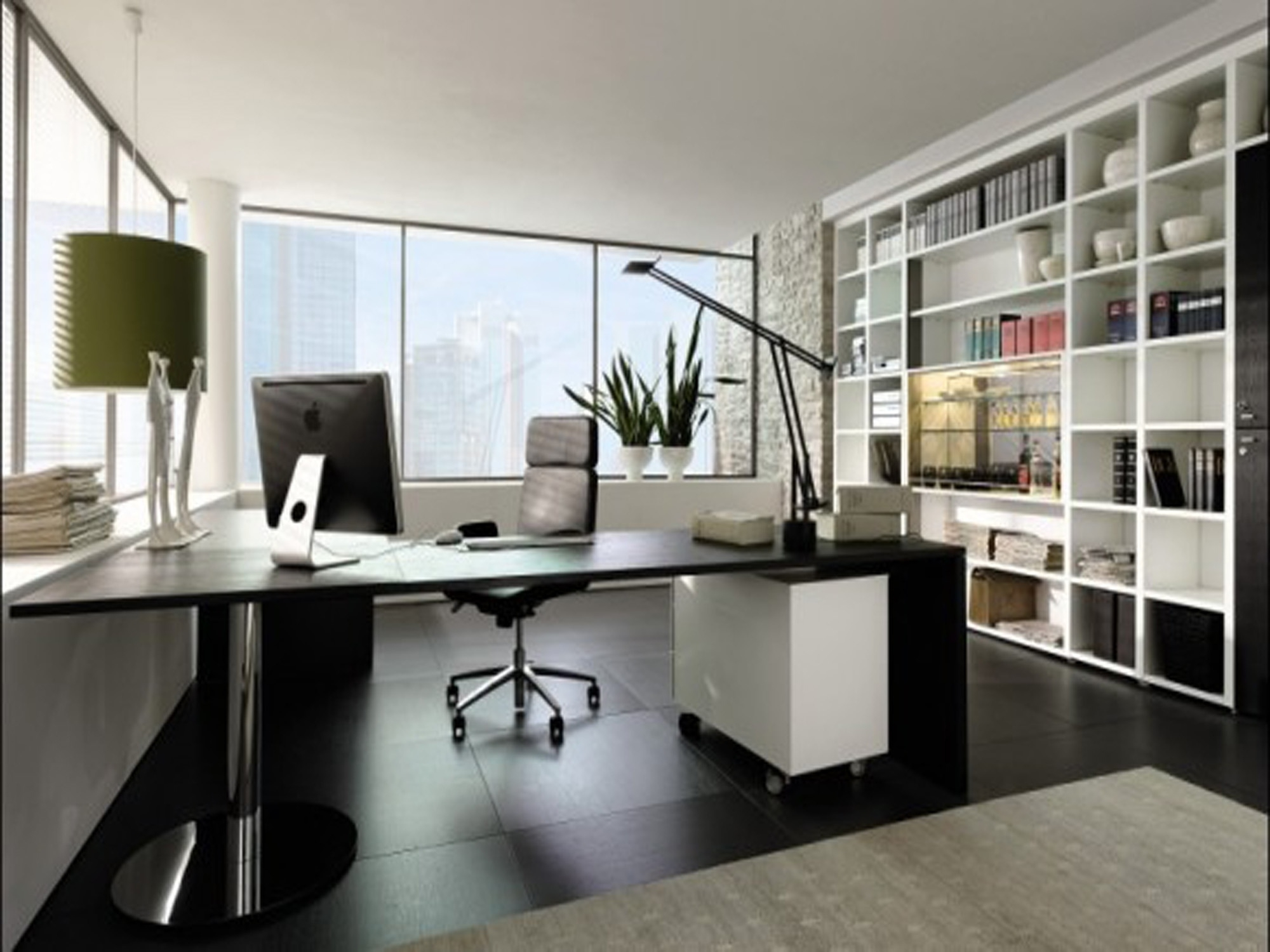 Favorite Green Executive Office Chairs In Feminine Executive Office Furniture Light Brown Wood Floor Tile (View 10 of 20)