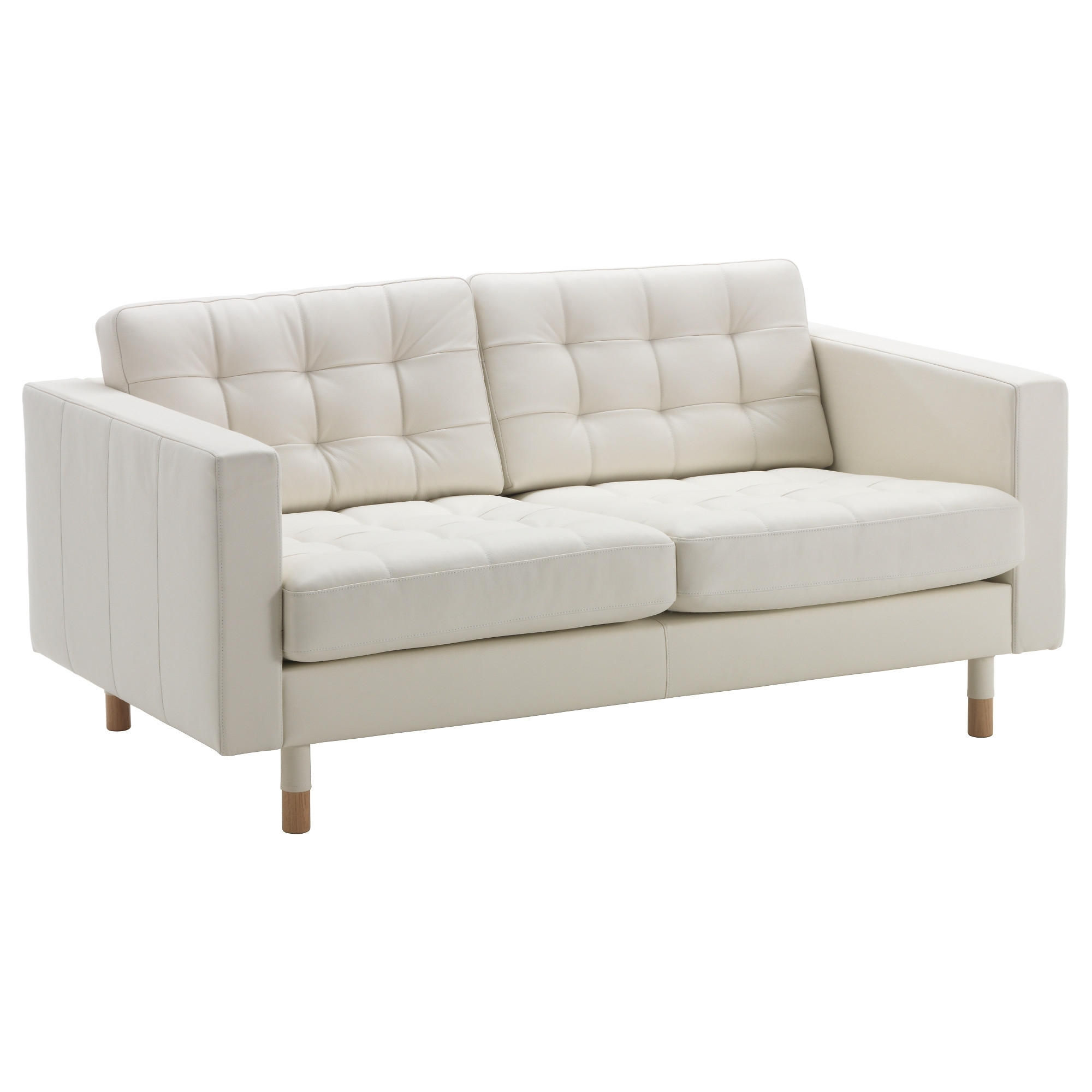 Favorite Ikea Small Sofas Intended For Landskrona Loveseat – Grann/bomstad White, Wood – Ikea (View 3 of 20)