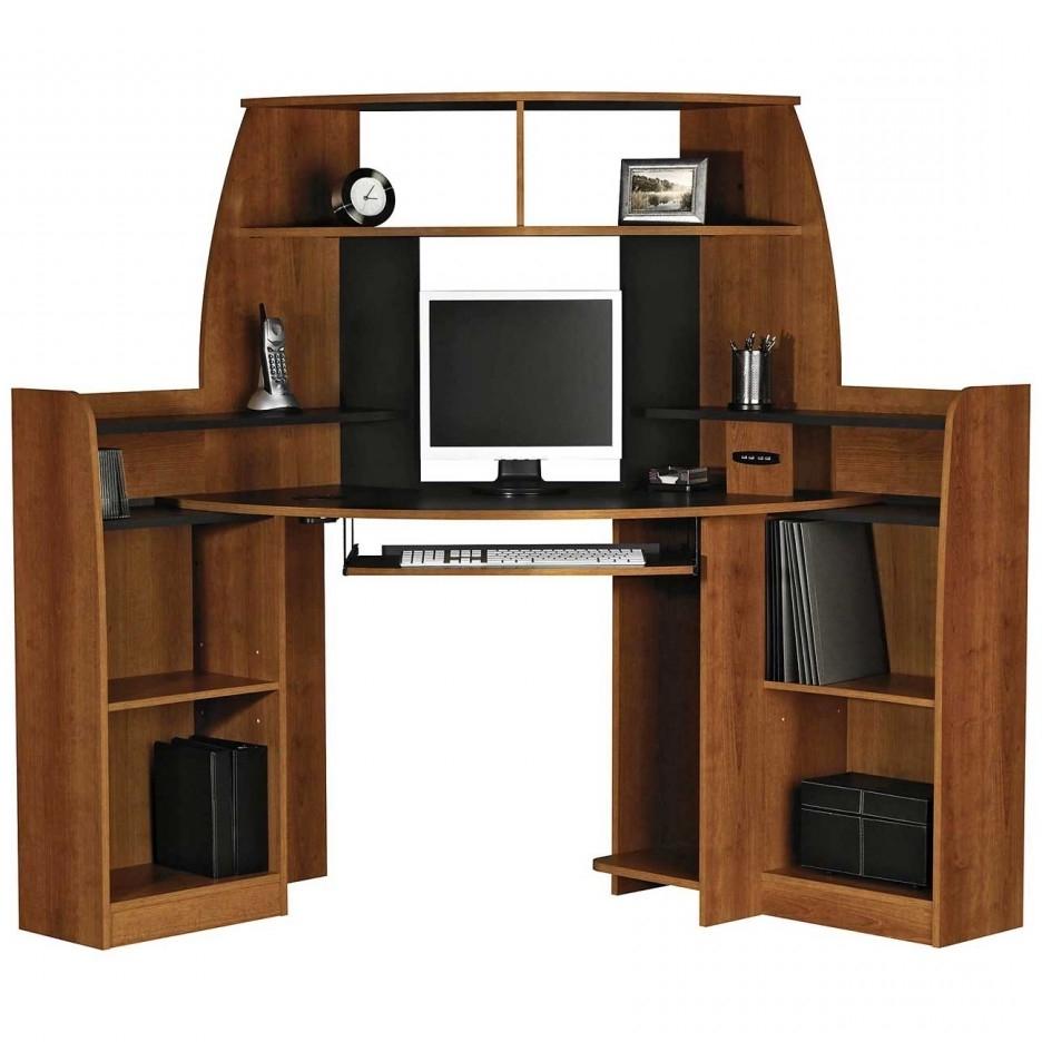 Favorite Innovative Teak Wood Corner Computer Desk Design Inspirations With For Teak Computer Desks (View 2 of 20)