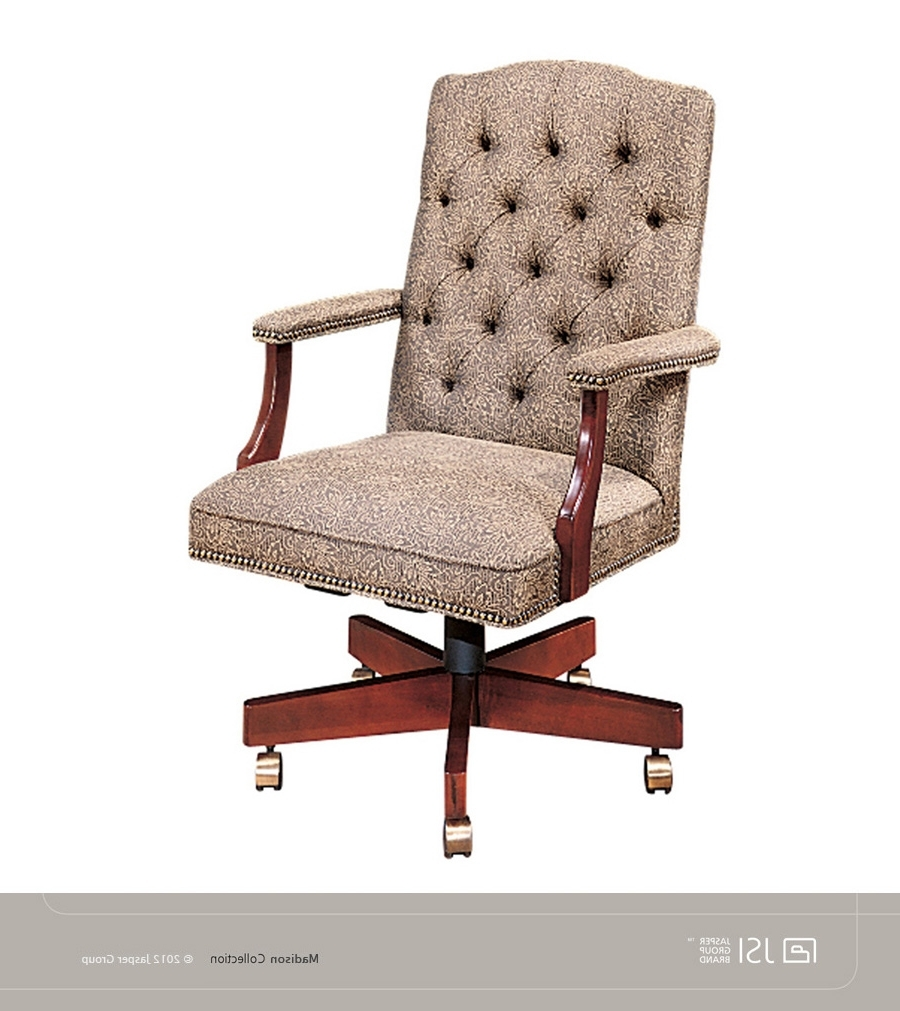 Favorite Jsi Madison Executive Chair, Tufted Back, Gold Trim Nails: Studio Within Madison Executive Office Chairs (View 2 of 20)