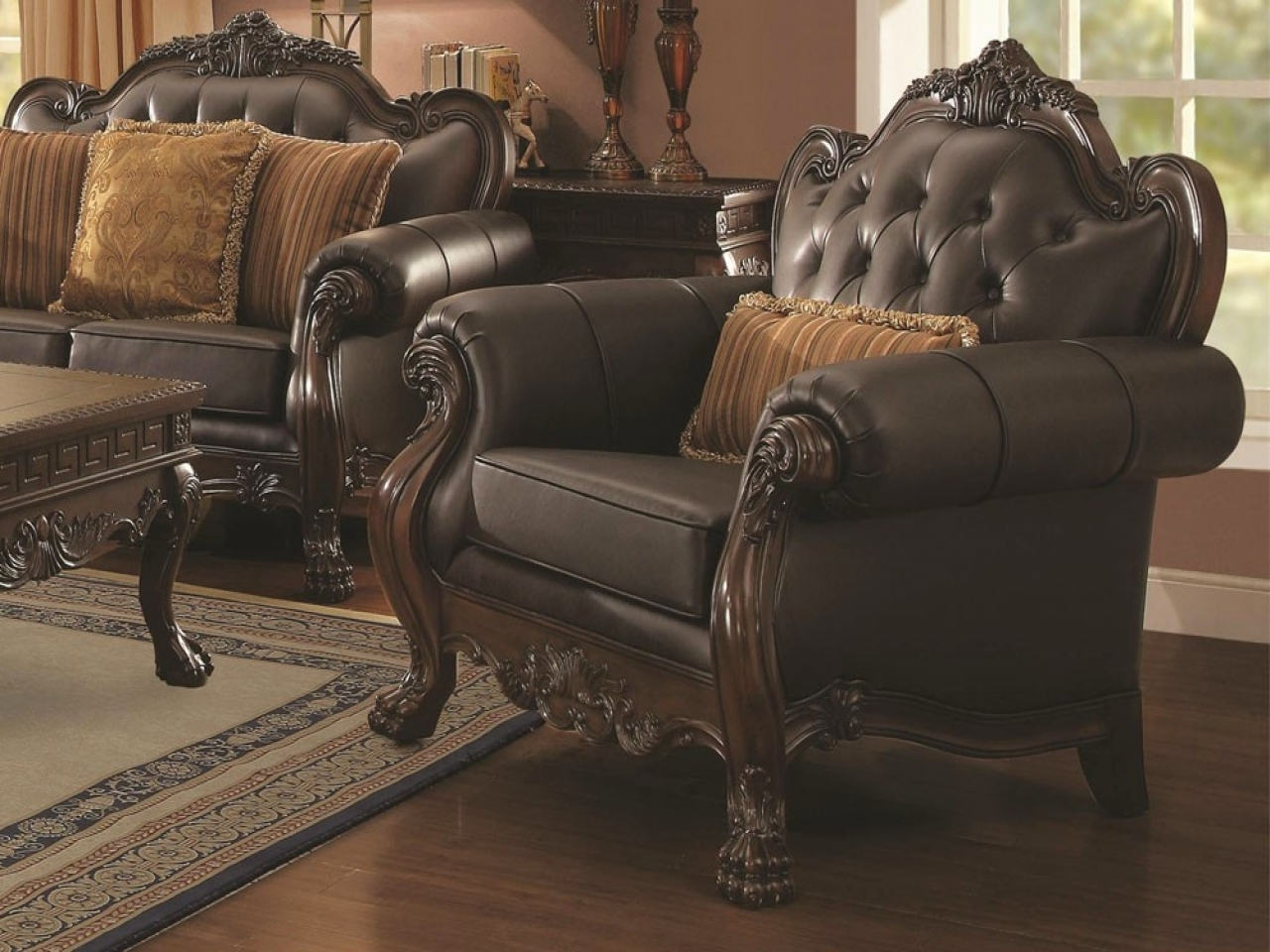 Favorite Living Room : Victorian Leather Sofa Leather Couches For Sale L With Victorian Leather Sofas (View 3 of 20)