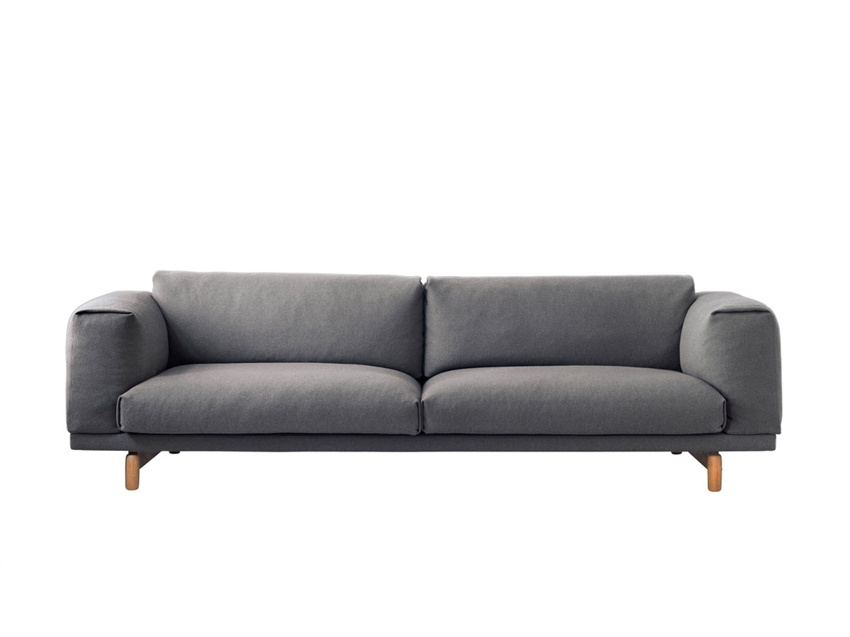 Favorite Modern 3 Seater Sofas Pertaining To Modern 3 Seater Sofas & Contemporary Couches At Nest.co (View 10 of 20)