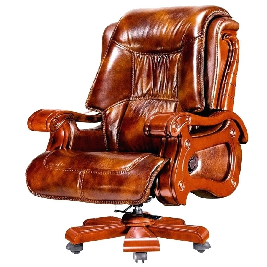 Favorite Red Leather Executive Office Chairs Regarding Desk Chair ~ Red Leather Desk Chair Office Chairs Staples Brown (View 5 of 20)