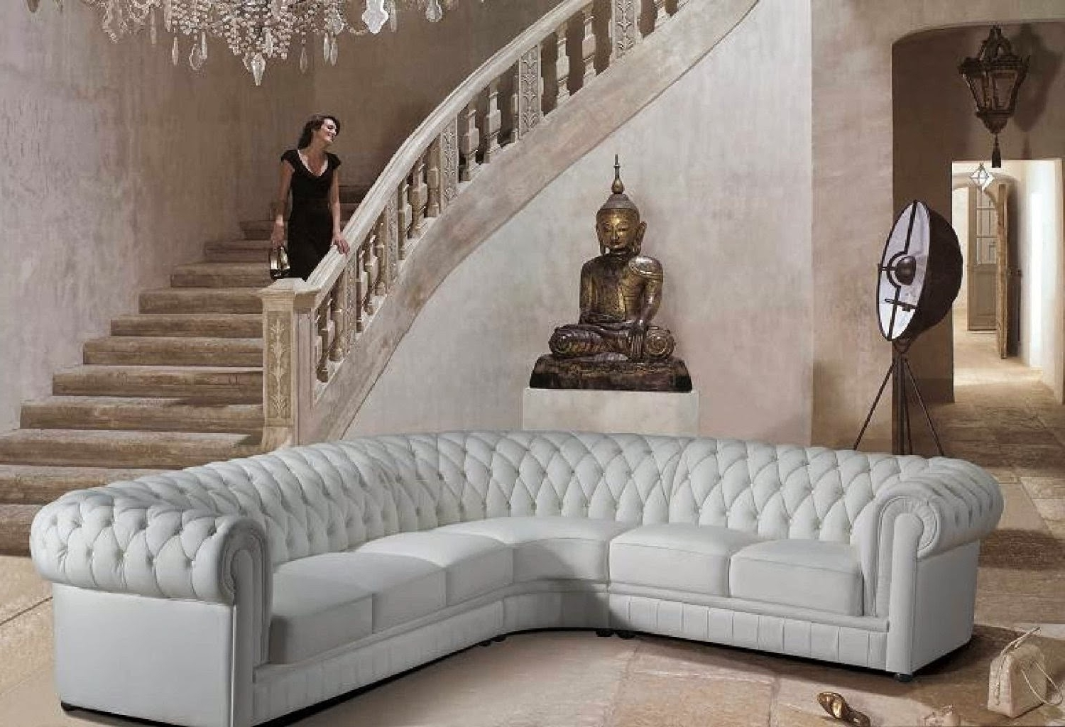 Favorite Rounded Corner Sectional Sofas In Rounded Corner Sectional Sofa – Home Design Ideas And Pictures (View 8 of 20)