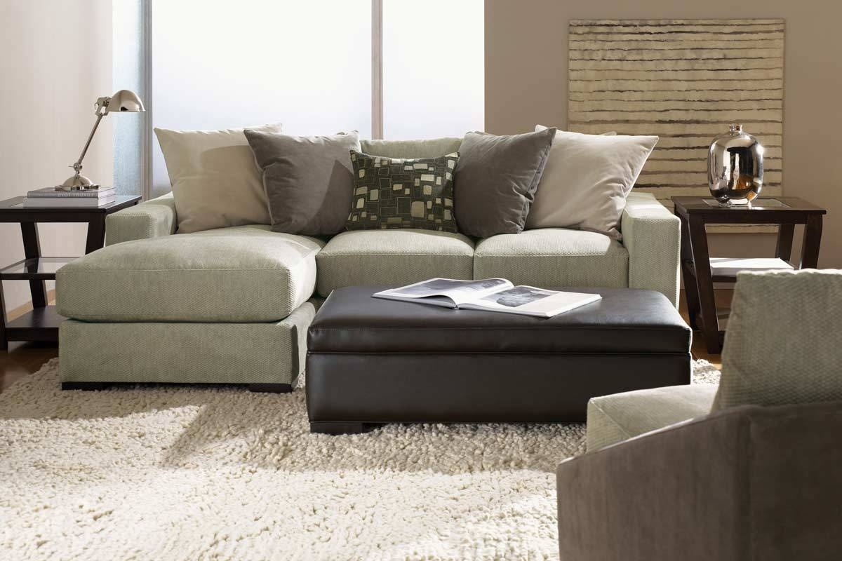 Favorite Sectional Sofa Design: Coolest Reversible Chaise Sectional Sofa Inside Small Sectional Sofas With Chaise And Ottoman (Gallery 8 of 20)
