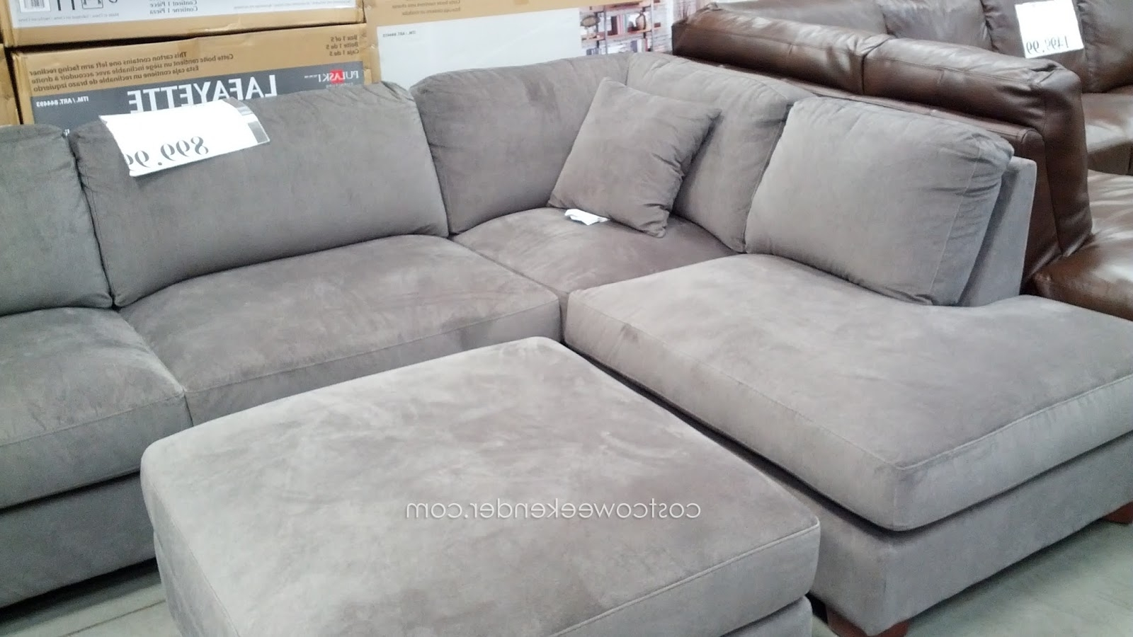 Favorite Sectional Sofa Design: Lovely Sectional Sofas Costco Leather Throughout Sectional Sofas At Costco (View 9 of 20)