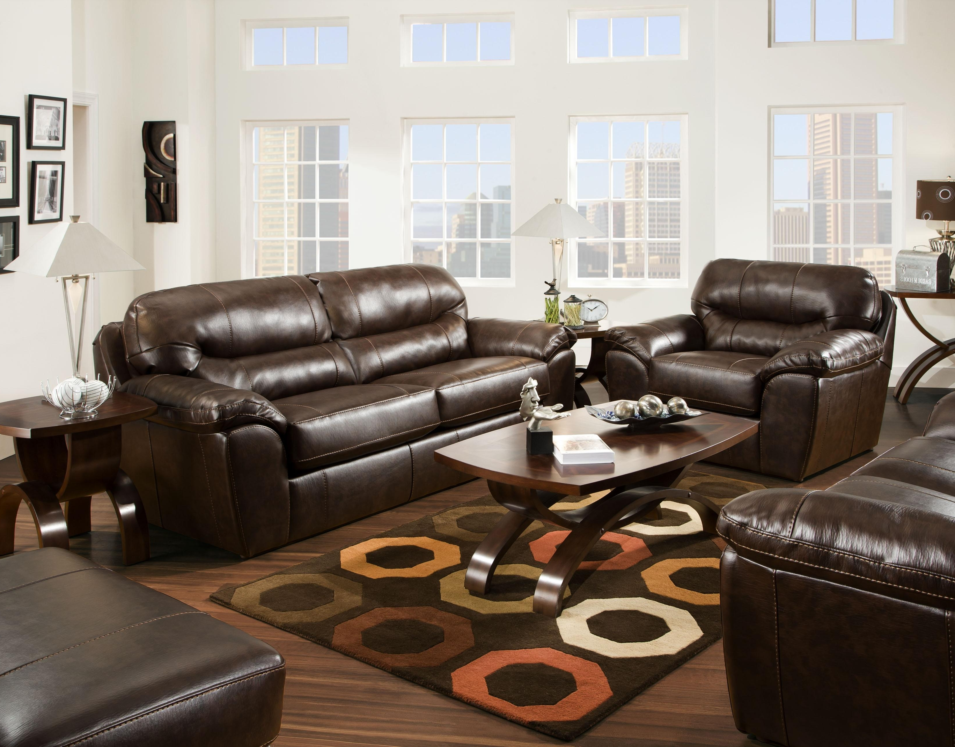 Favorite Sectional Sofas At Barrie With Furniture : Claudia Ii Leather Sofa And Loveseat Macys Leather (View 10 of 20)