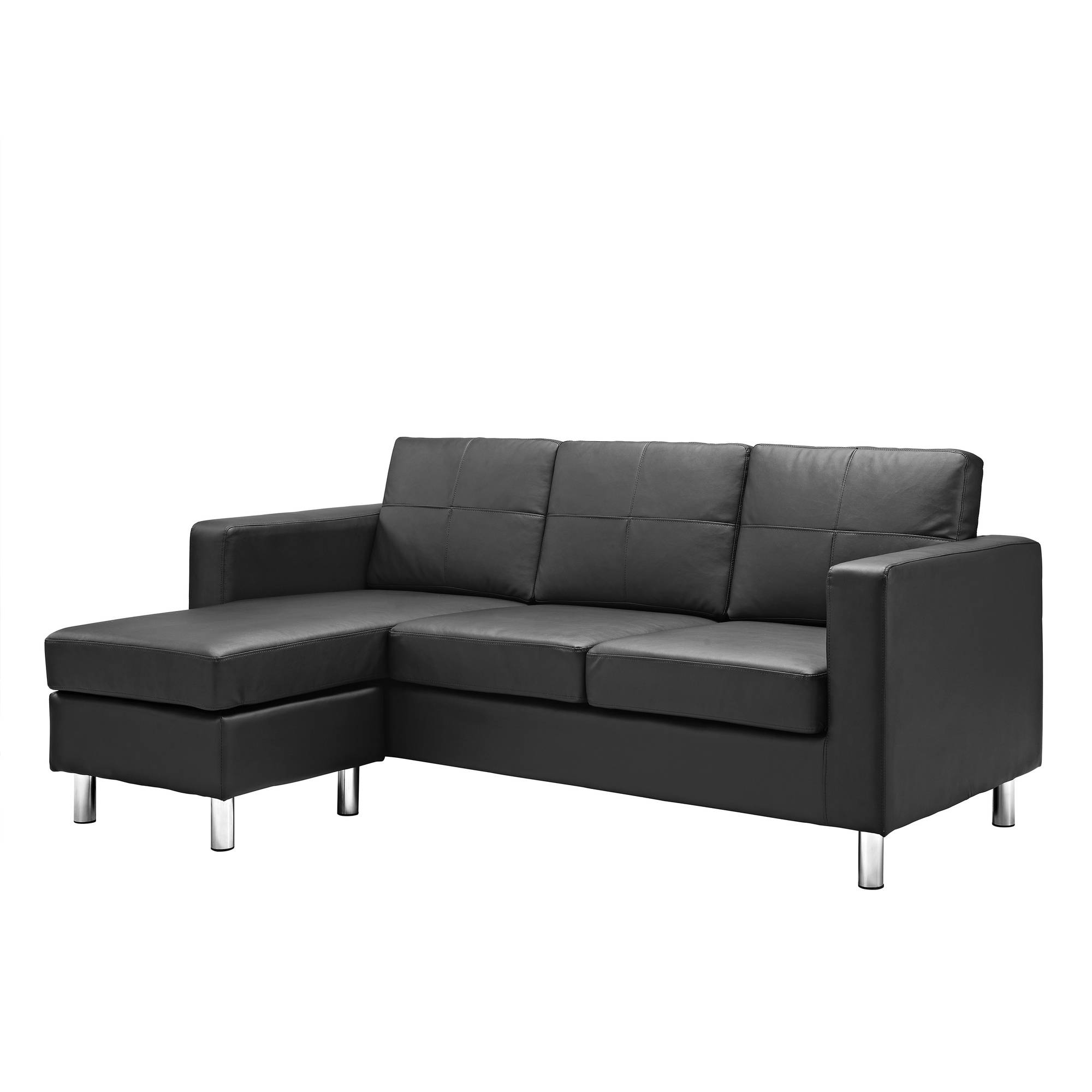 Favorite Sectional Sofas At Walmart Within Dorel Living Small Spaces Configurable Sectional Sofa, Multiple (View 3 of 20)