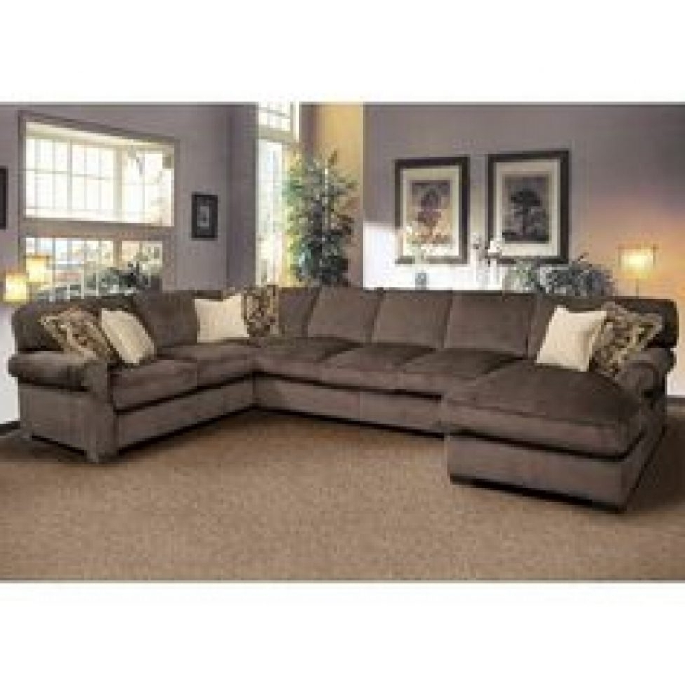 Favorite Sectional Sofas With High Backs Regarding Sofa : High Back Sectional Sofa Blue In Color Modernlining (View 1 of 20)