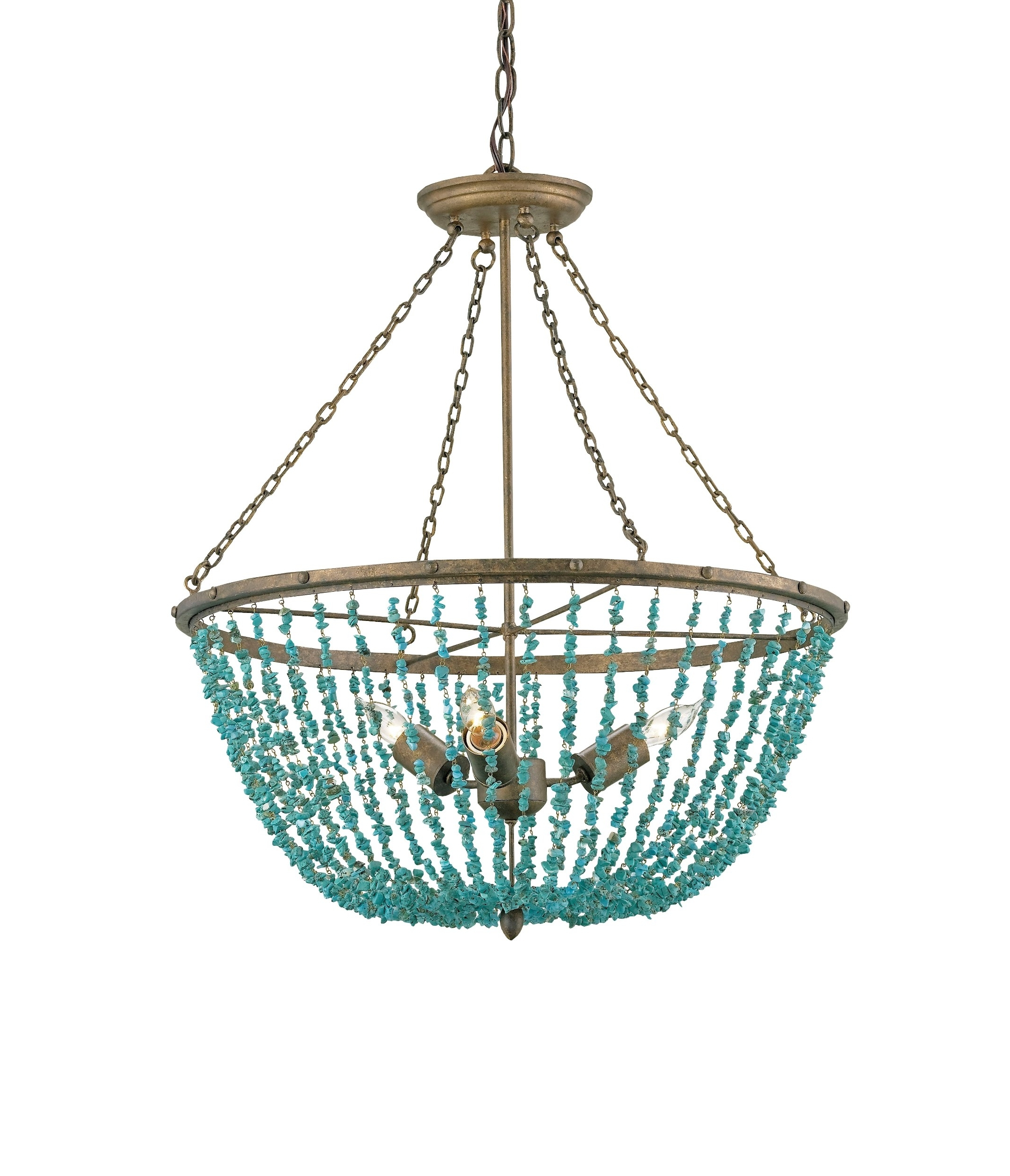 Favorite Turquoise Chandelier Lights Inside Turquoise Chandeliers Lighting – Pixball (View 7 of 20)