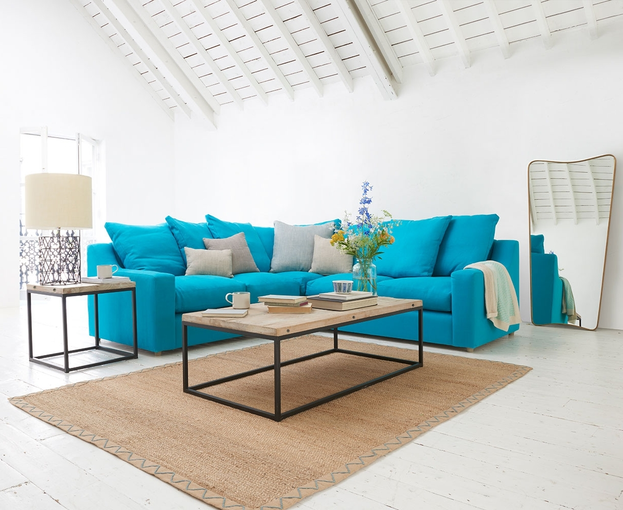 Favorite Turquoise Sofas Pertaining To Turquoise Sofa Living Room — Awesome Homes : Best Ideas Turquoise (View 4 of 20)