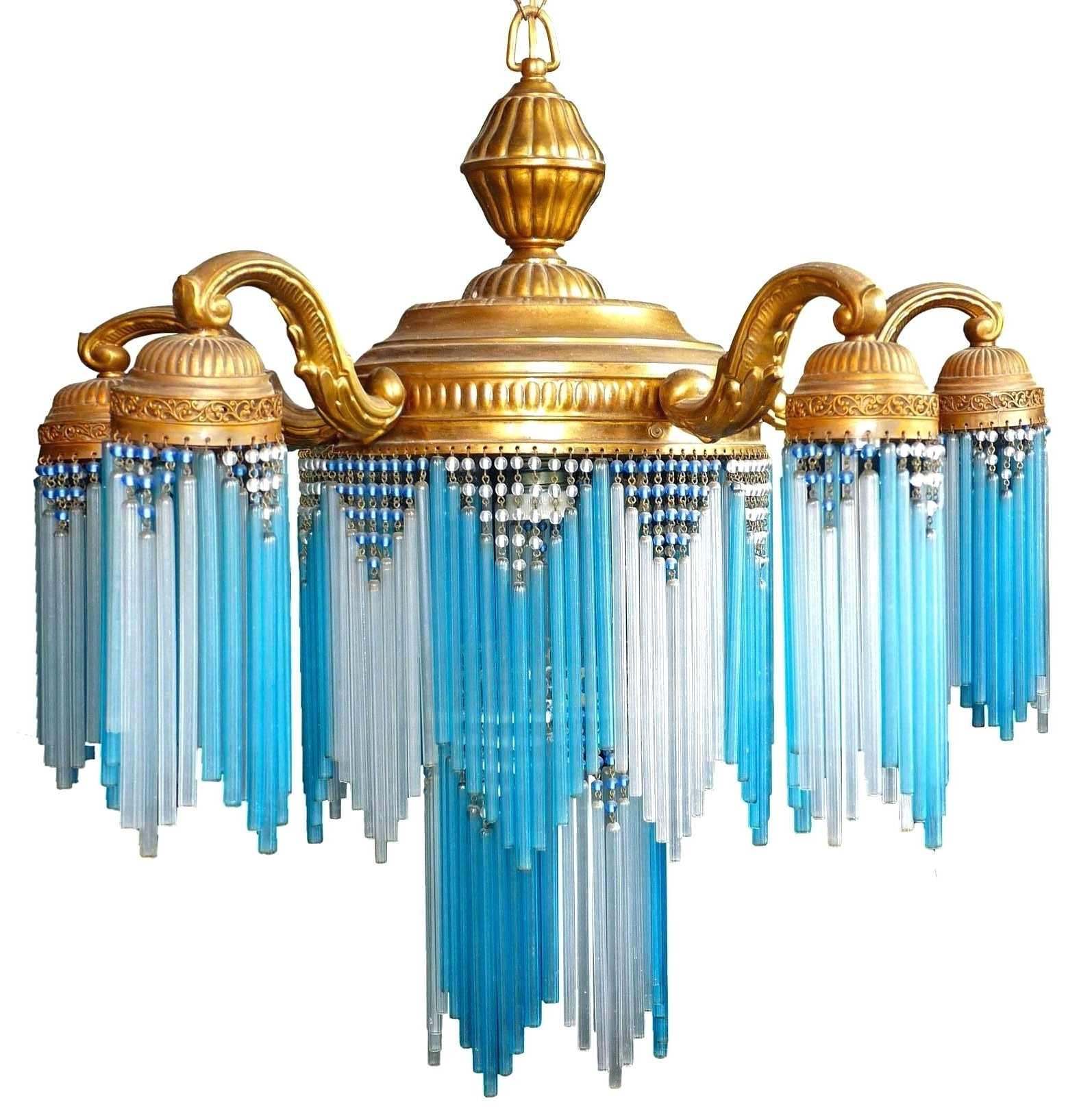 Favorite Turquoise Stone Chandelier Lighting Inside Turquoise Chandelier – Picevo (View 6 of 20)