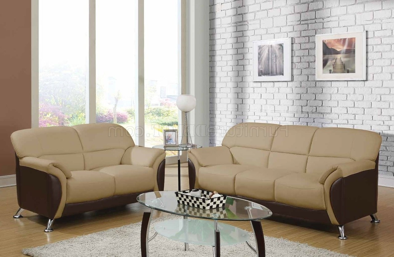 Favorite U9103 Sofa In Cappuccino Leatheretteglobal Furniture Usa Intended For Philadelphia Sectional Sofas (View 5 of 20)