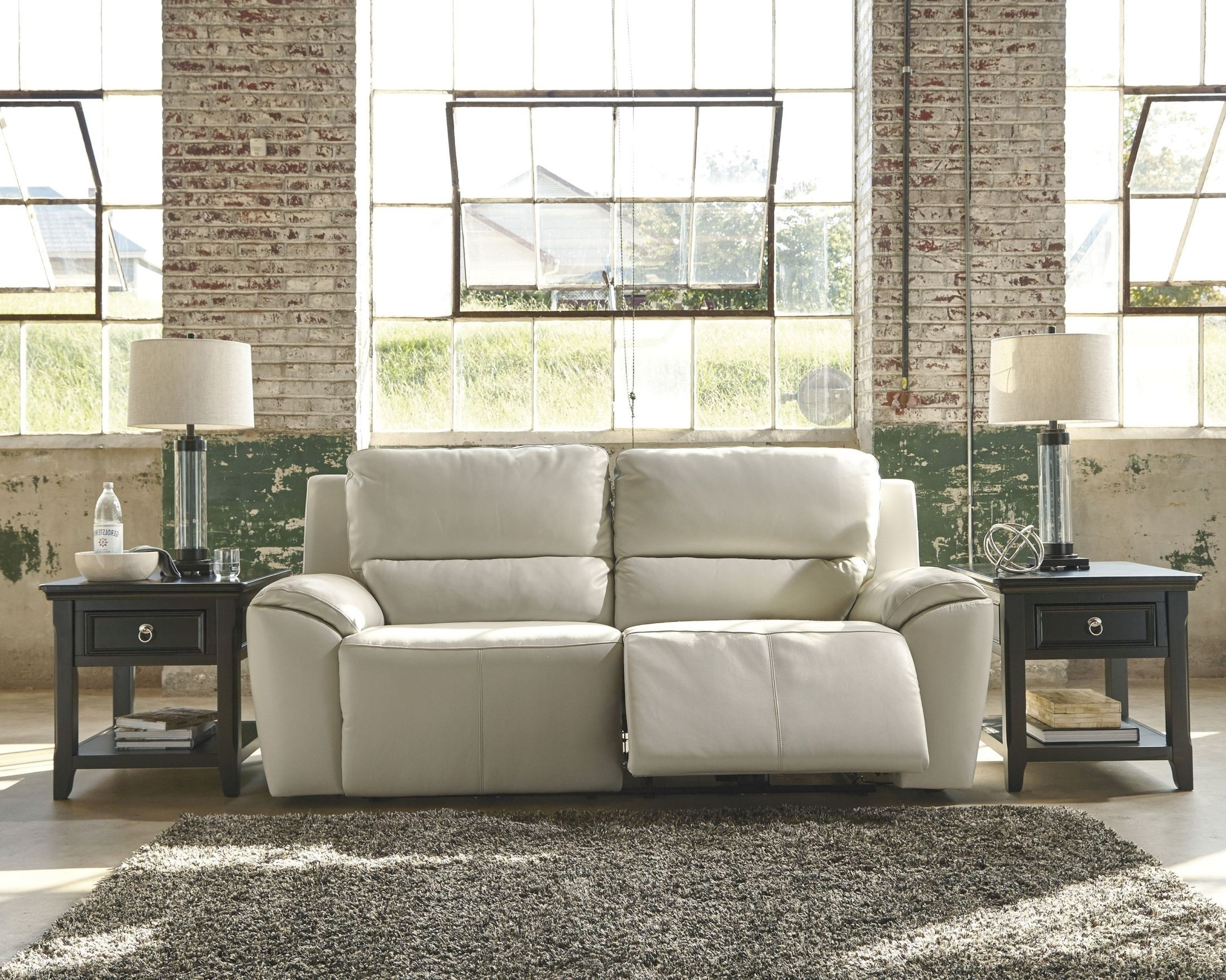 Favorite Valeton Cream 2 Seat Power Reclining Sofa From Ashley (u7350047 Throughout 2 Seat Recliner Sofas (View 15 of 20)