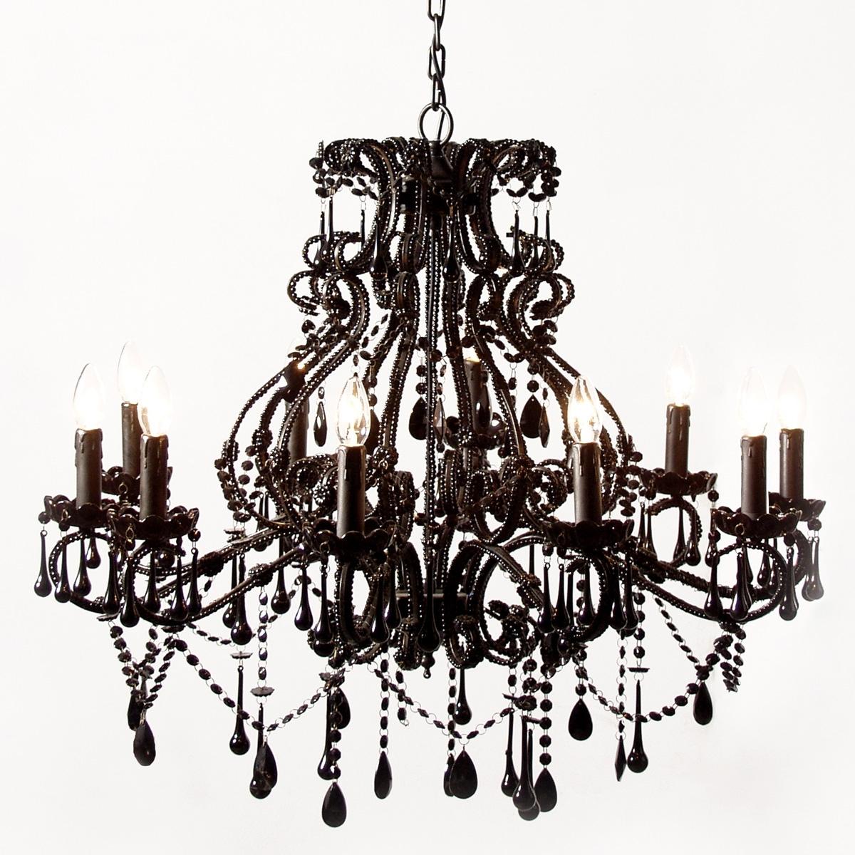 Favorite Vintage Black Chandelier Within Vintage Black Chandelier For Bedroom Image 4 – Howiezine (View 5 of 20)