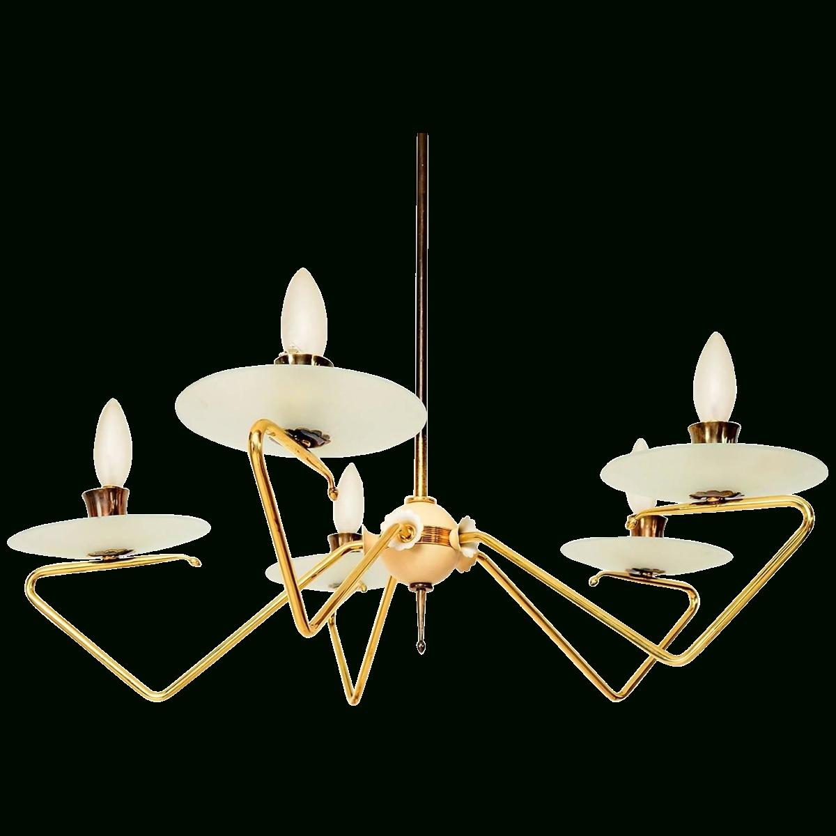 Favorite Viyet – Designer Furniture – Lighting – Vintage Italian Mid Century In Vintage Italian Chandeliers (View 5 of 20)