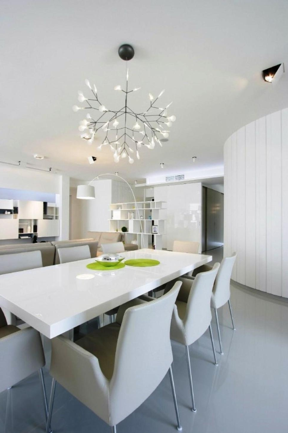 Favorite White Contemporary Chandeliers — Best Home Decor Ideas : Trends With White Contemporary Chandelier (View 12 of 20)