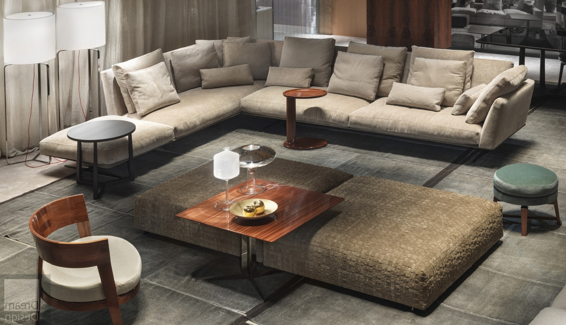 Flexform Sofas Throughout Newest Flexform Evergreen Sofaantonio Citterio – Everything But Ordinary (View 9 of 20)