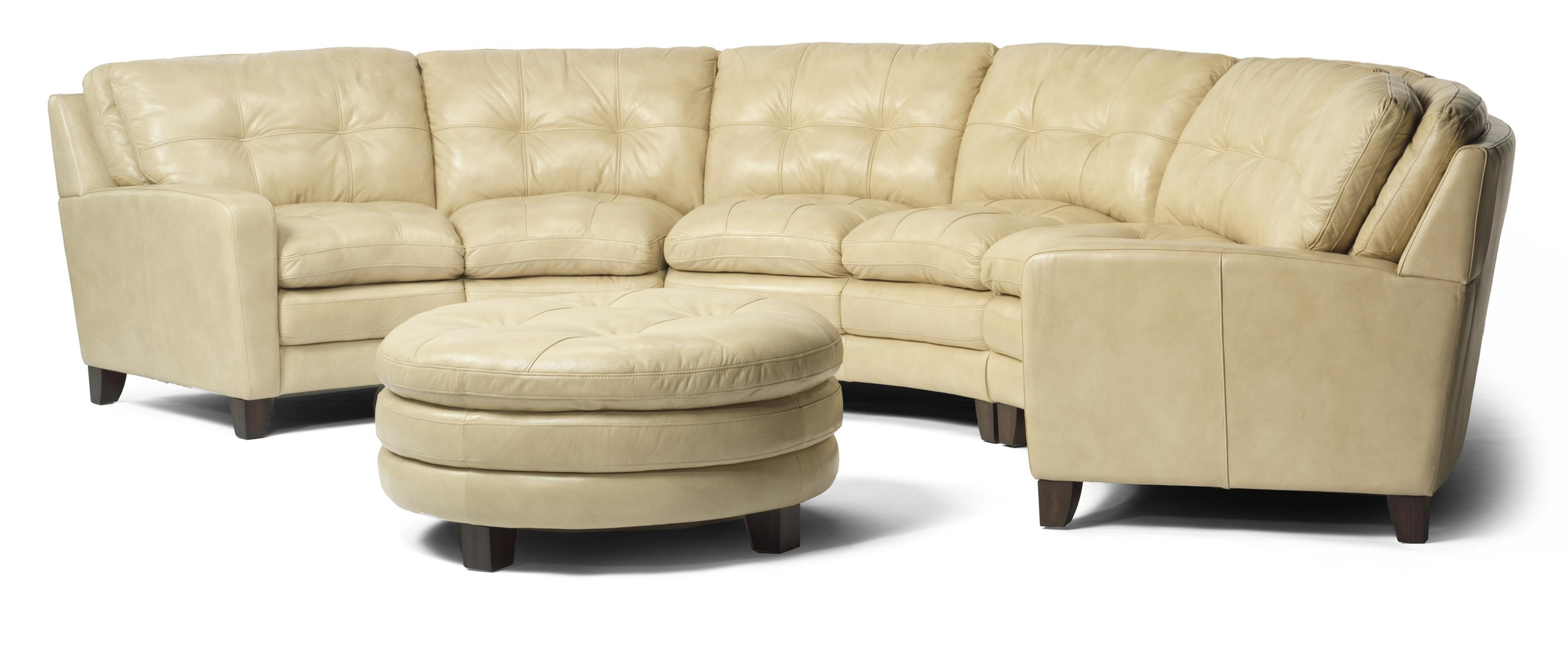 Flexsteel Latitudes – South Street Curved Sectional Sofa – Ahfa Intended For Fashionable Johnson City Tn Sectional Sofas (View 12 of 20)