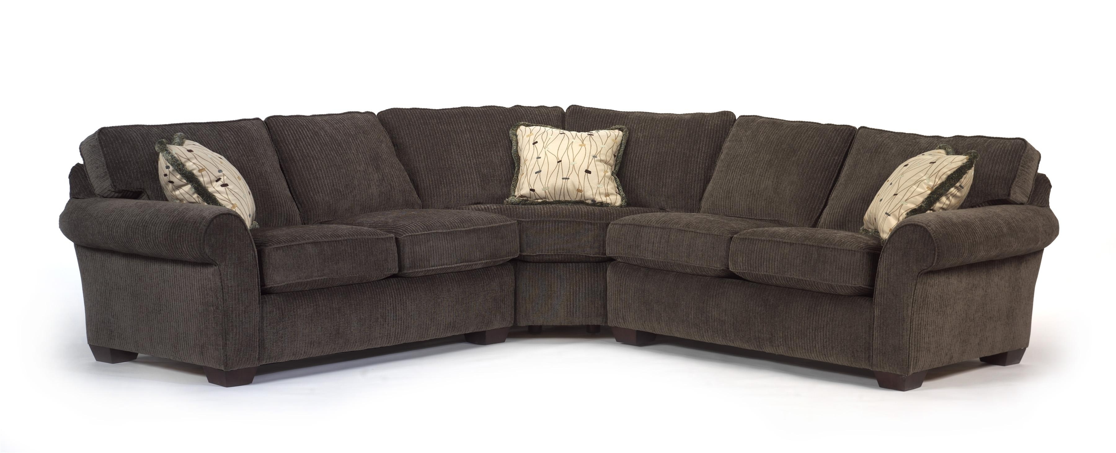 Flexsteel Vail Corner Sectional Sofa – Ahfa – Sofa Sectional Within Well Liked Kansas City Sectional Sofas (View 5 of 20)
