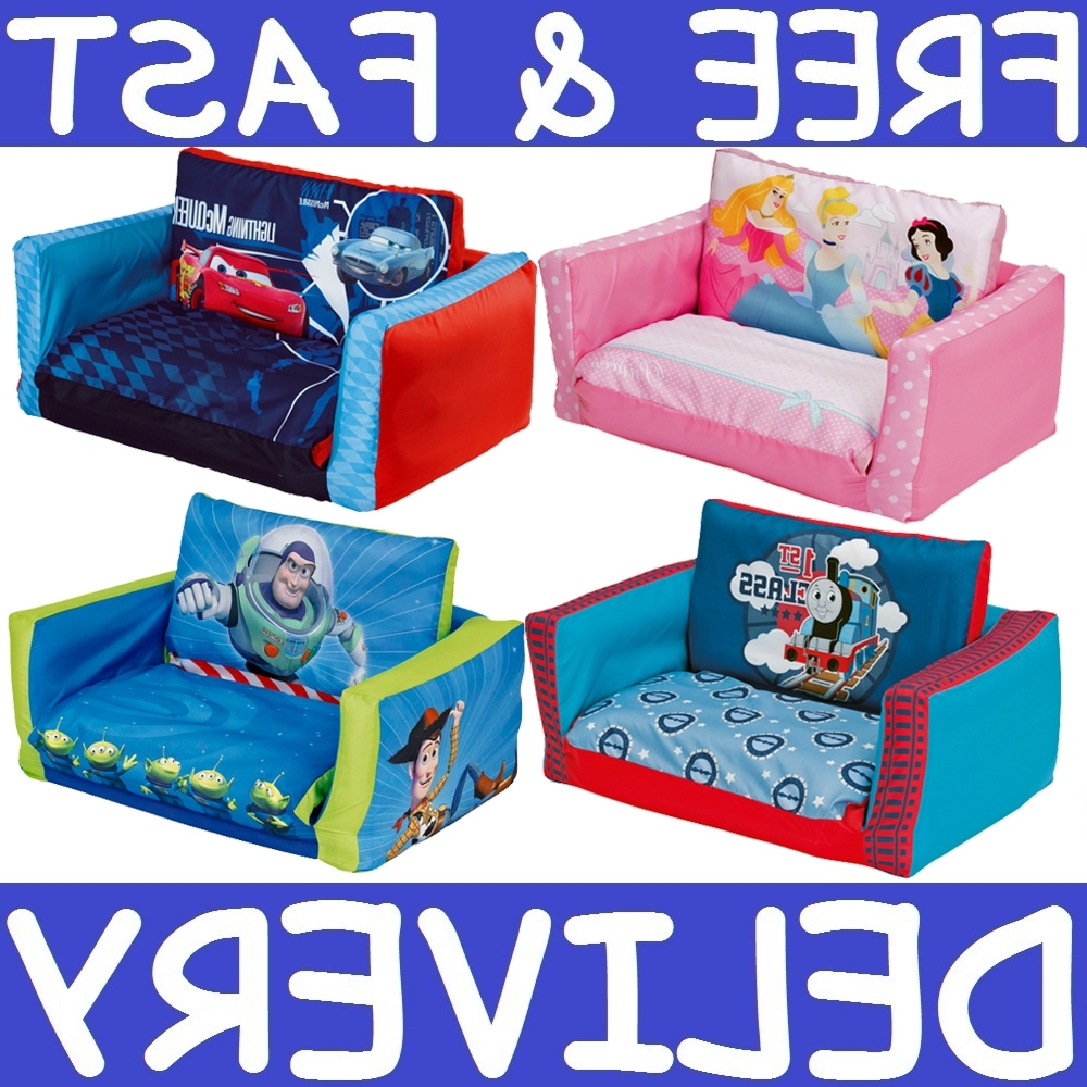 Flip Out Sofa For Kids Within Fashionable 48 Flip Sofa Bed For Toddlers, Hip Kids Flip Out Sofa Couch Lounge (View 9 of 20)