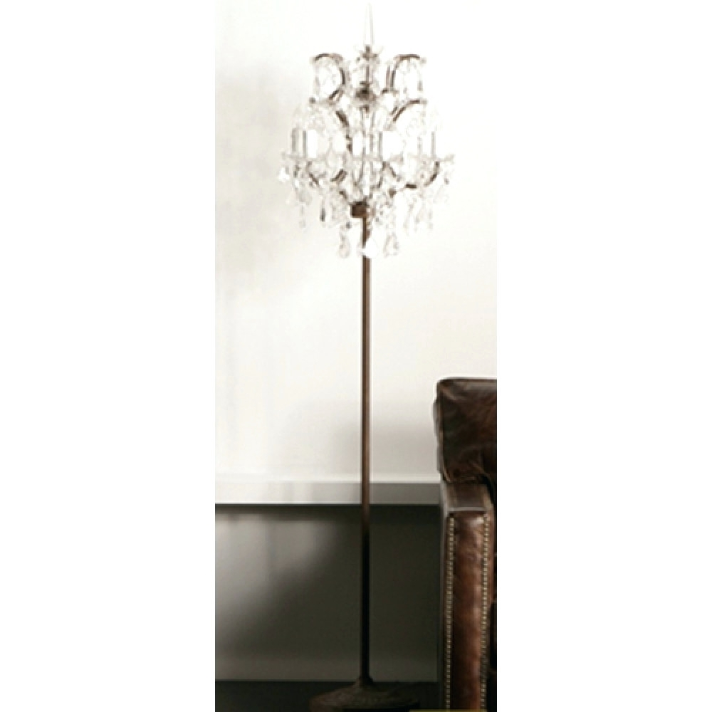 Floor Lamps : Standing Floor Lamps Walmart Standing Floor Lamps With Regard To 2018 Tall Standing Chandelier Lamps (View 16 of 20)