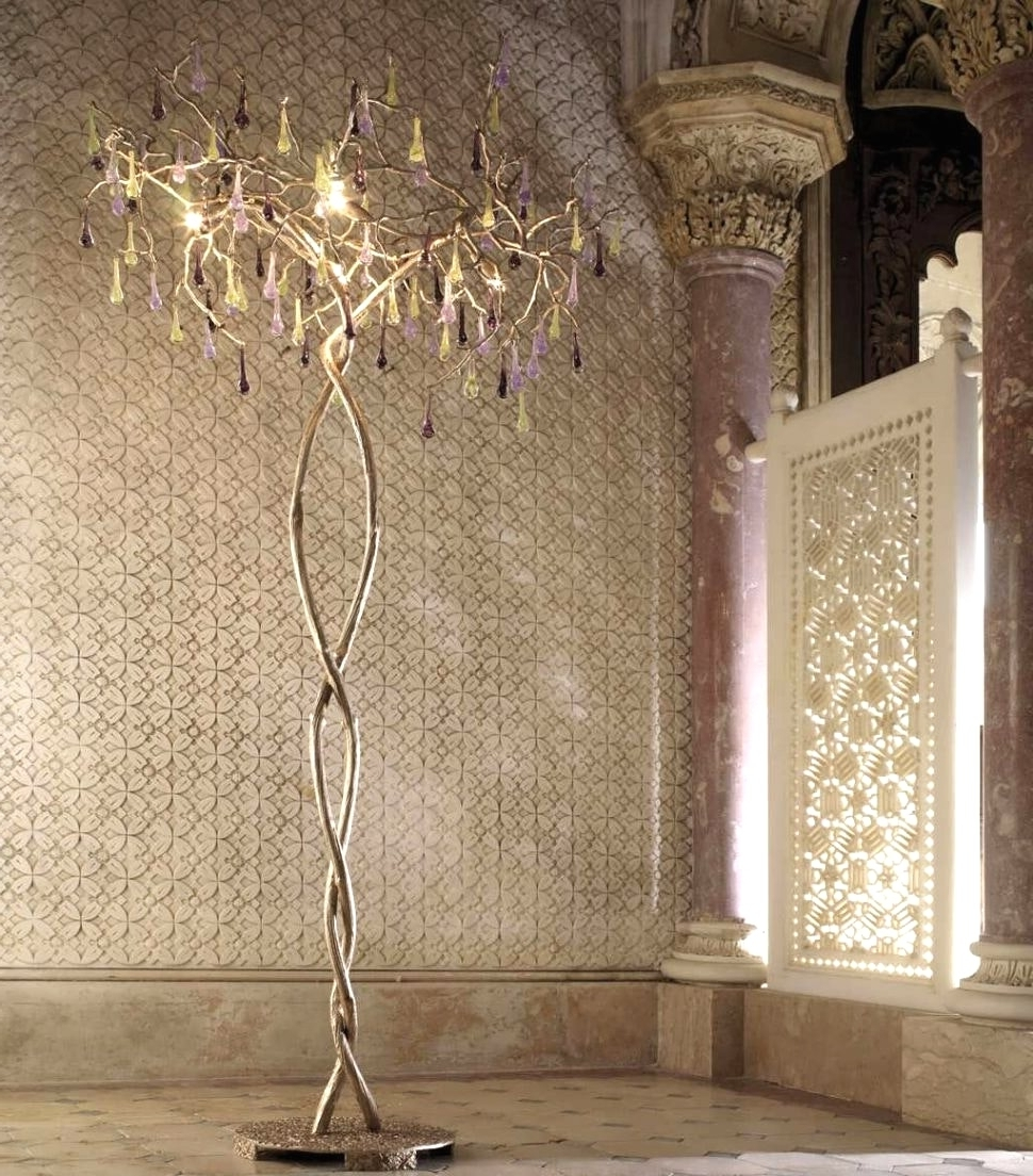 Floor Standing Chandeliers Within Well Known Standing Chandeliers (View 8 of 20)