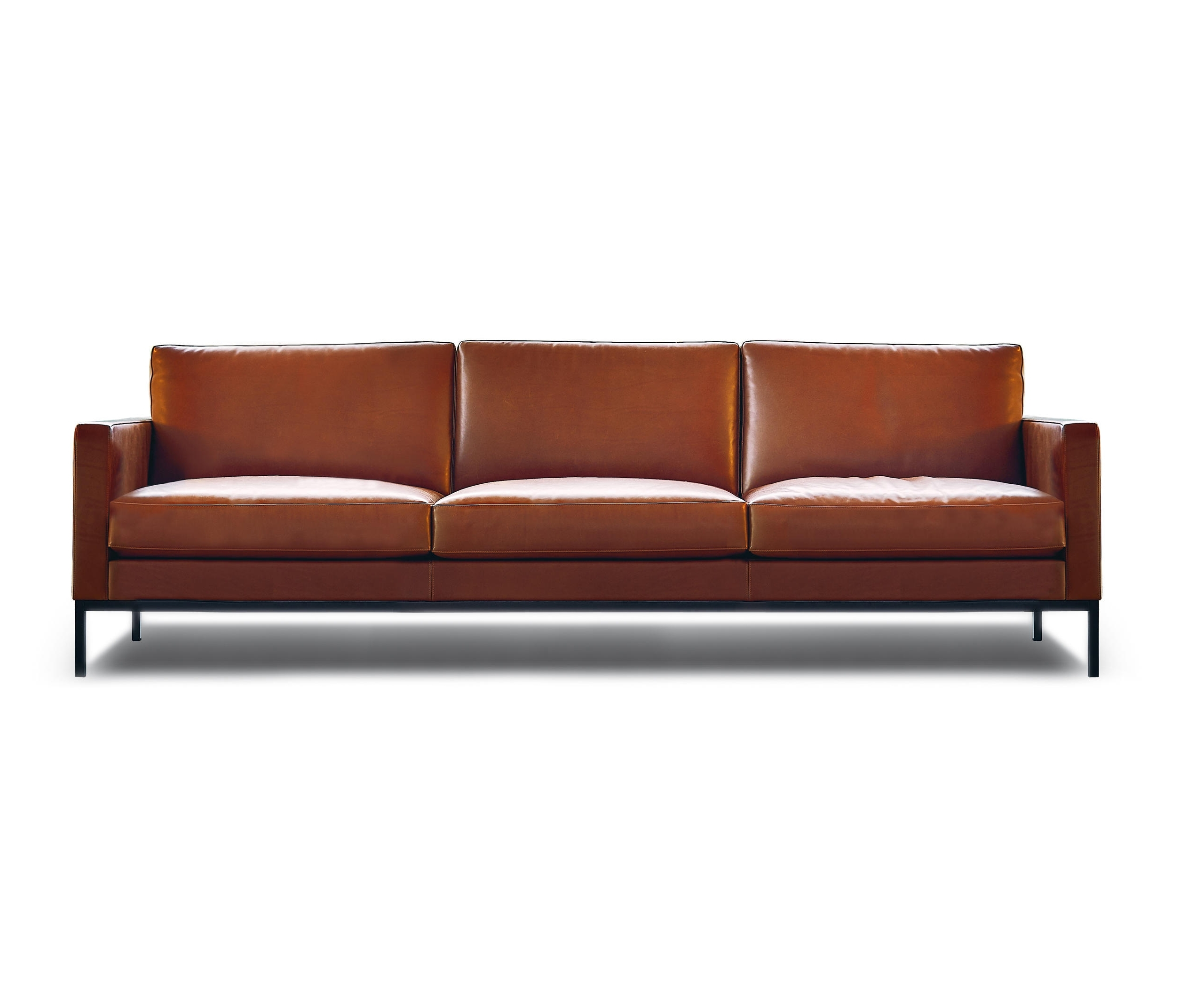 Florence Knoll 3 Seater Sofas Within Popular Florence Knoll Lounge 3 Seat Sofa – Lounge Sofas From Knoll (View 3 of 20)