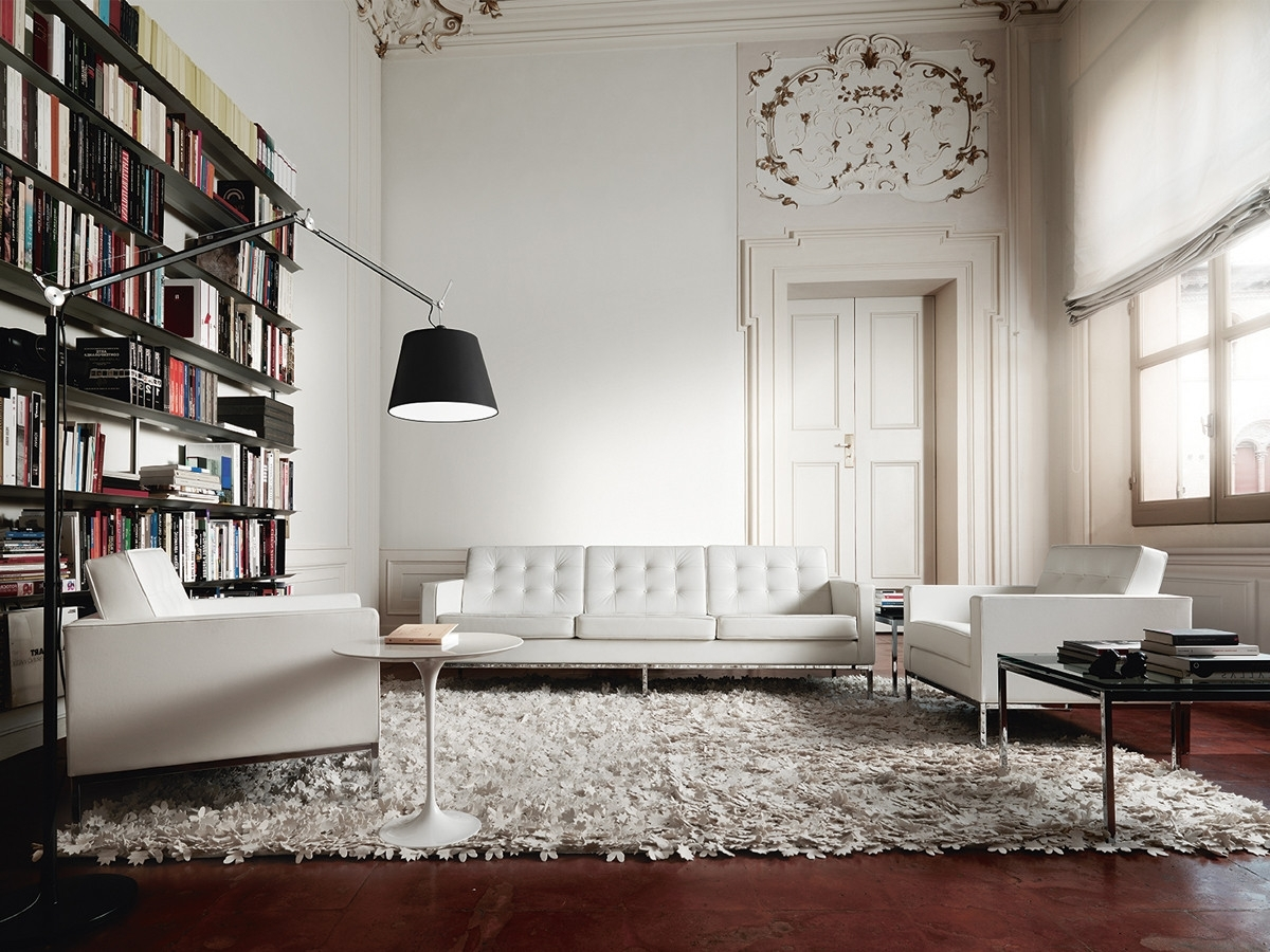 Florence Knoll Living Room Sofas For Current Buy The Knoll Studio Knoll Florence Knoll Three Seater Sofa At (View 7 of 20)
