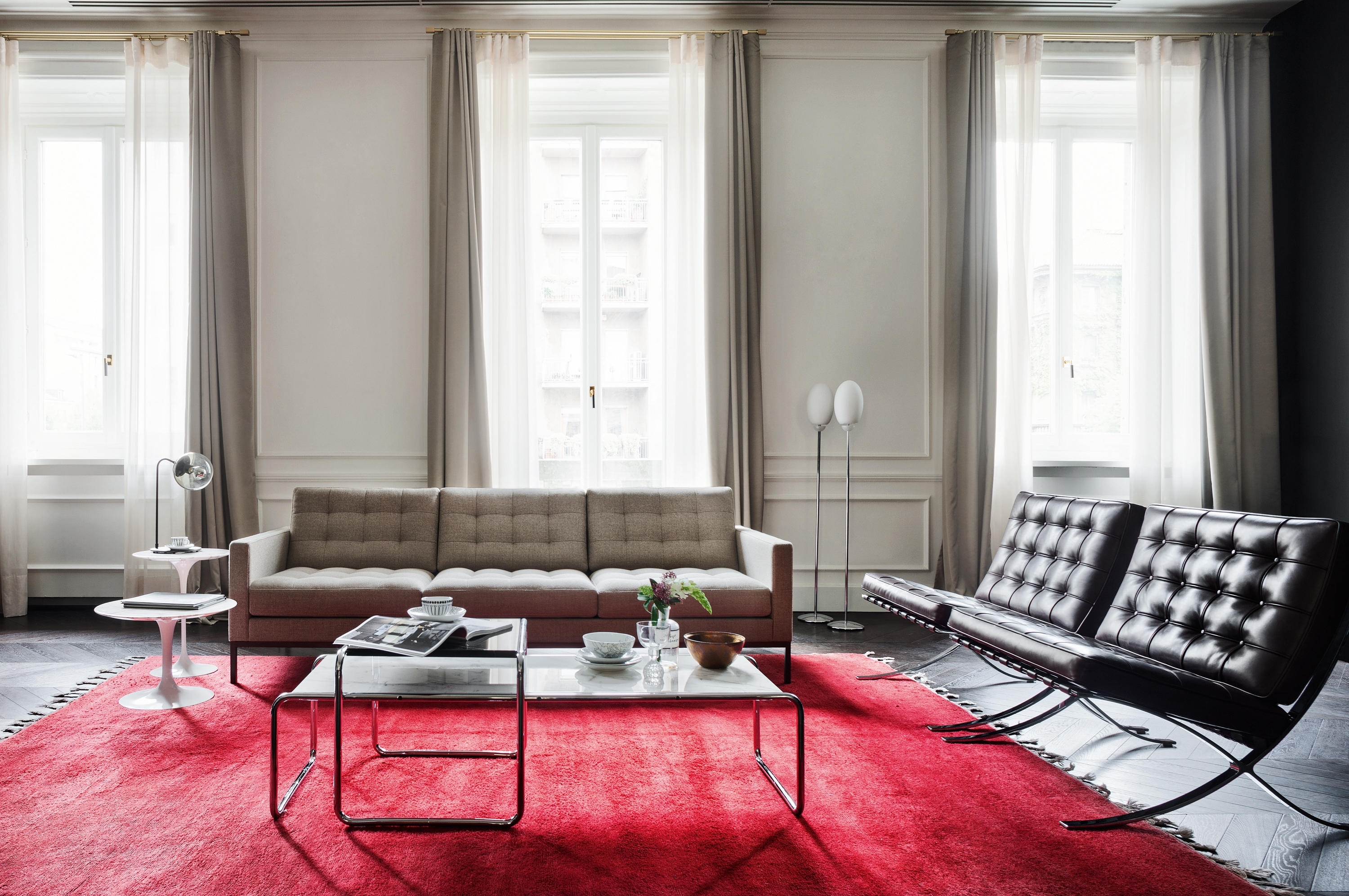 Florence Knoll Lounge 3 Seat Sofa – Lounge Sofas From Knoll Throughout 2019 Florence Knoll Living Room Sofas (Gallery 4 of 20)
